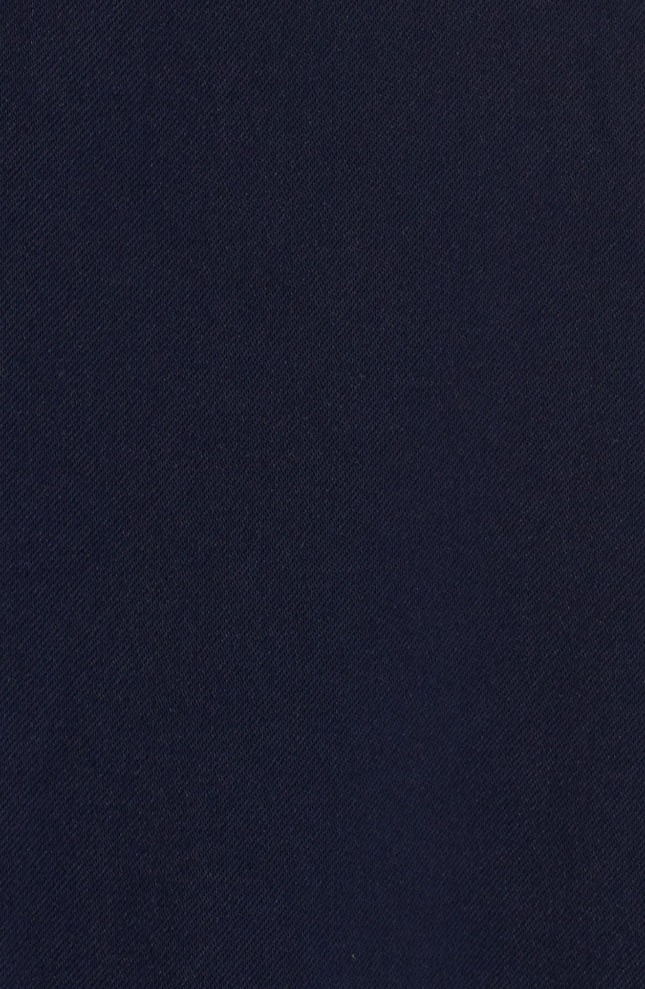 Sadie Ruffle Trim Jumpsuit,                             Alternate thumbnail 6, color,                             410