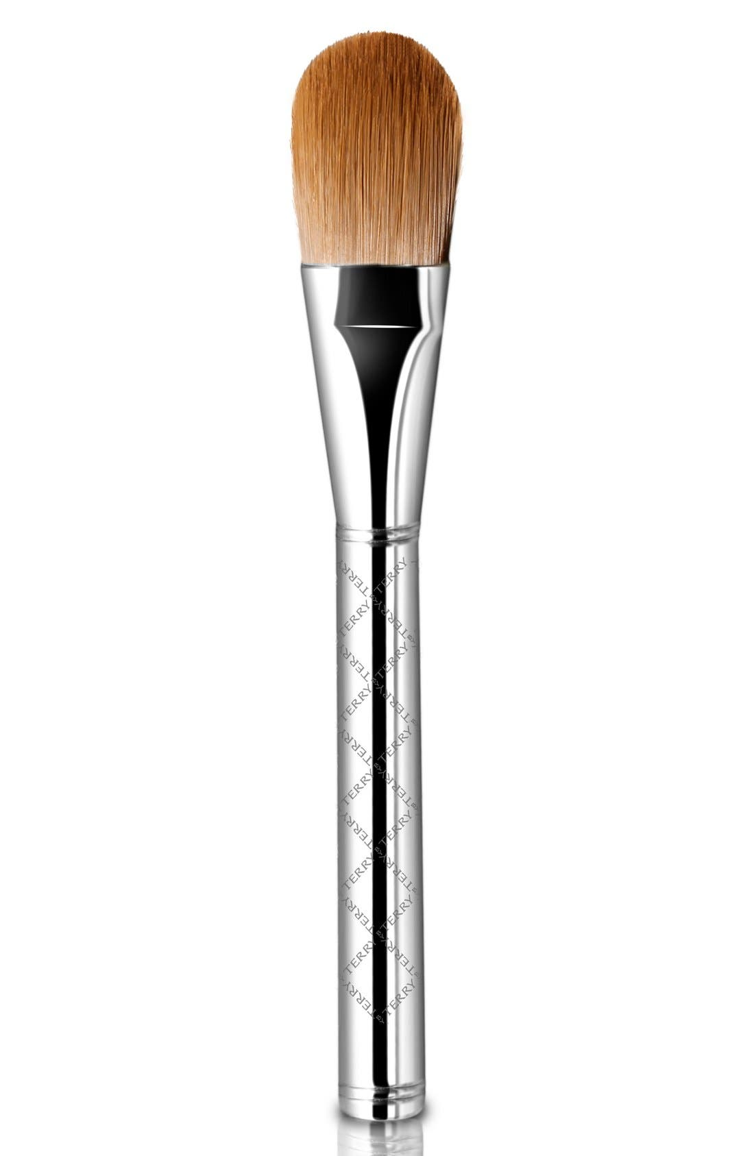 SPACE.NK.apothecary By Terry Precision 6 Foundation Brush,                             Main thumbnail 1, color,                             000