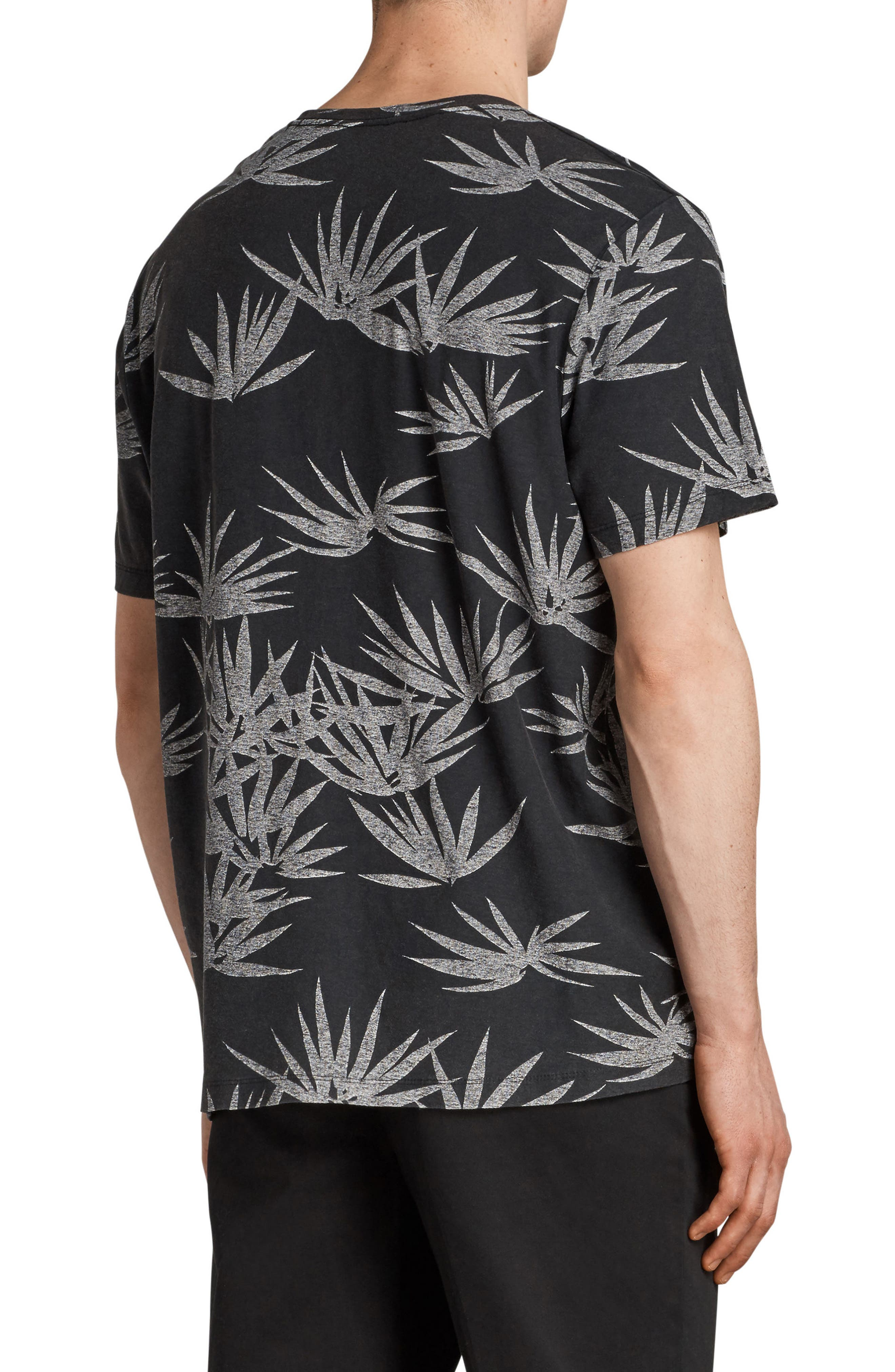 Bhutan Short Sleeve T-Shirt,                             Alternate thumbnail 2, color,                             BLACK