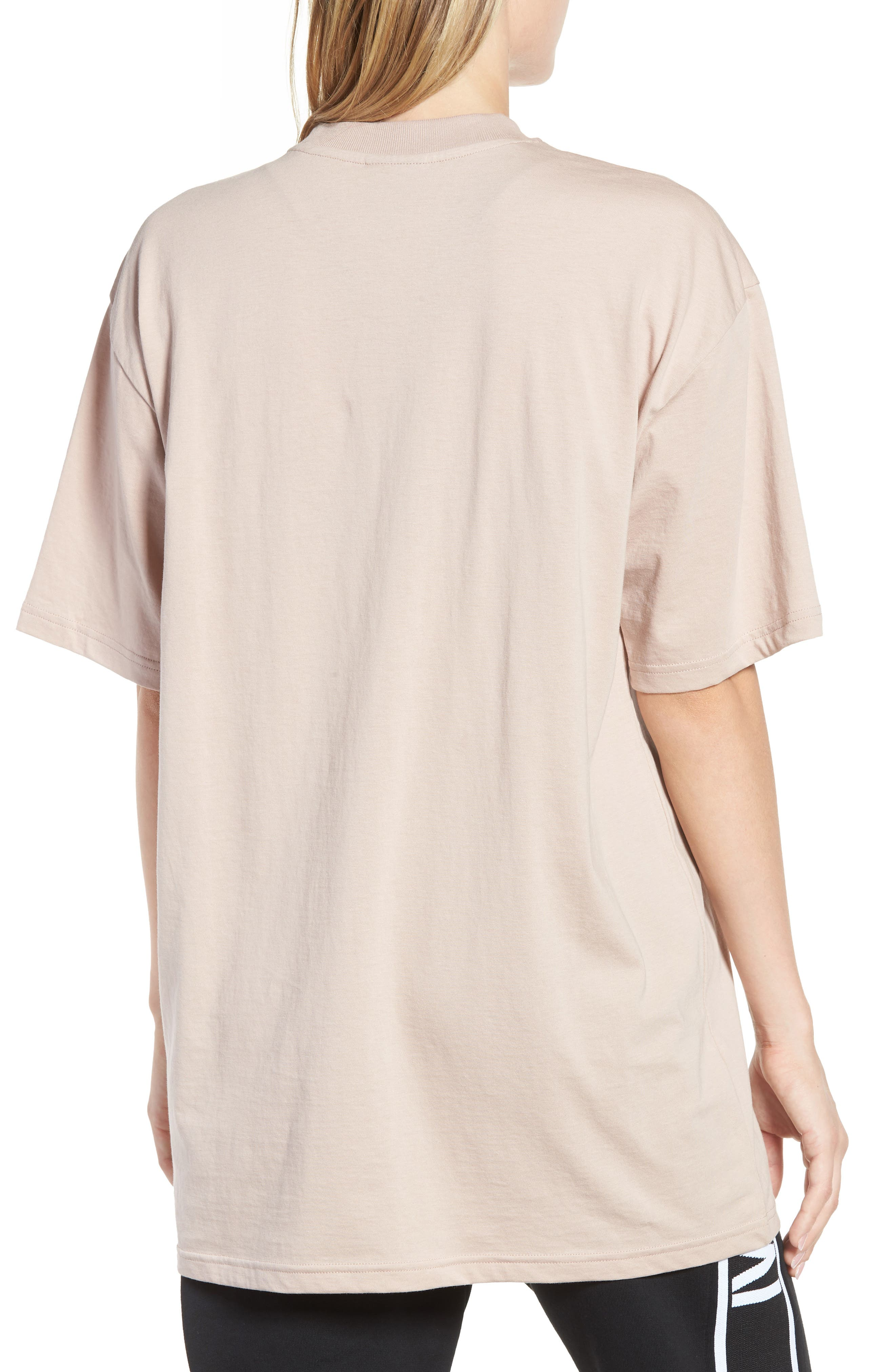 Dotted Logo Oversized Tee,                             Alternate thumbnail 6, color,