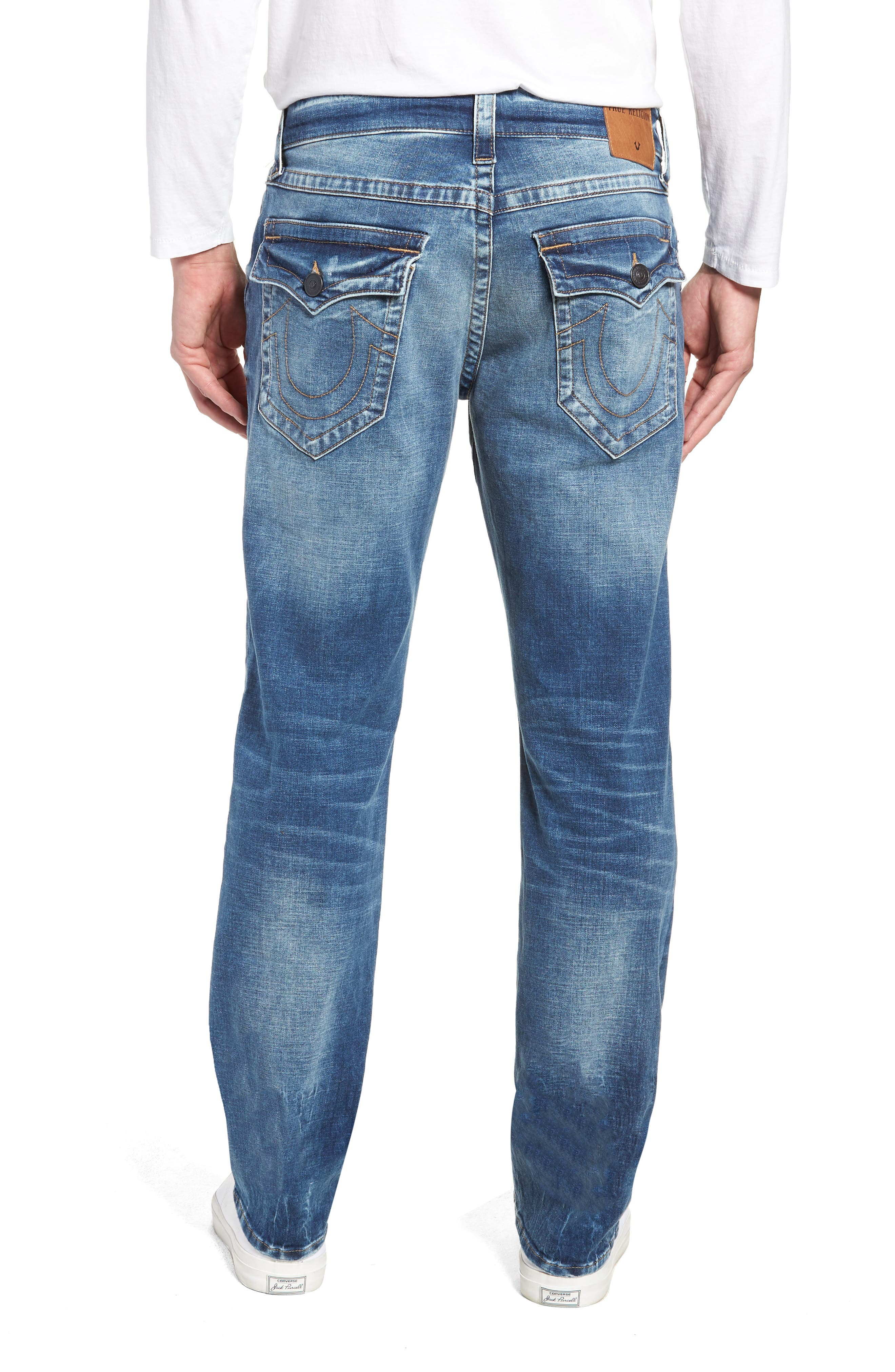 Ricky Relaxed Fit Jeans,                             Alternate thumbnail 2, color,                             STATIC BLUE