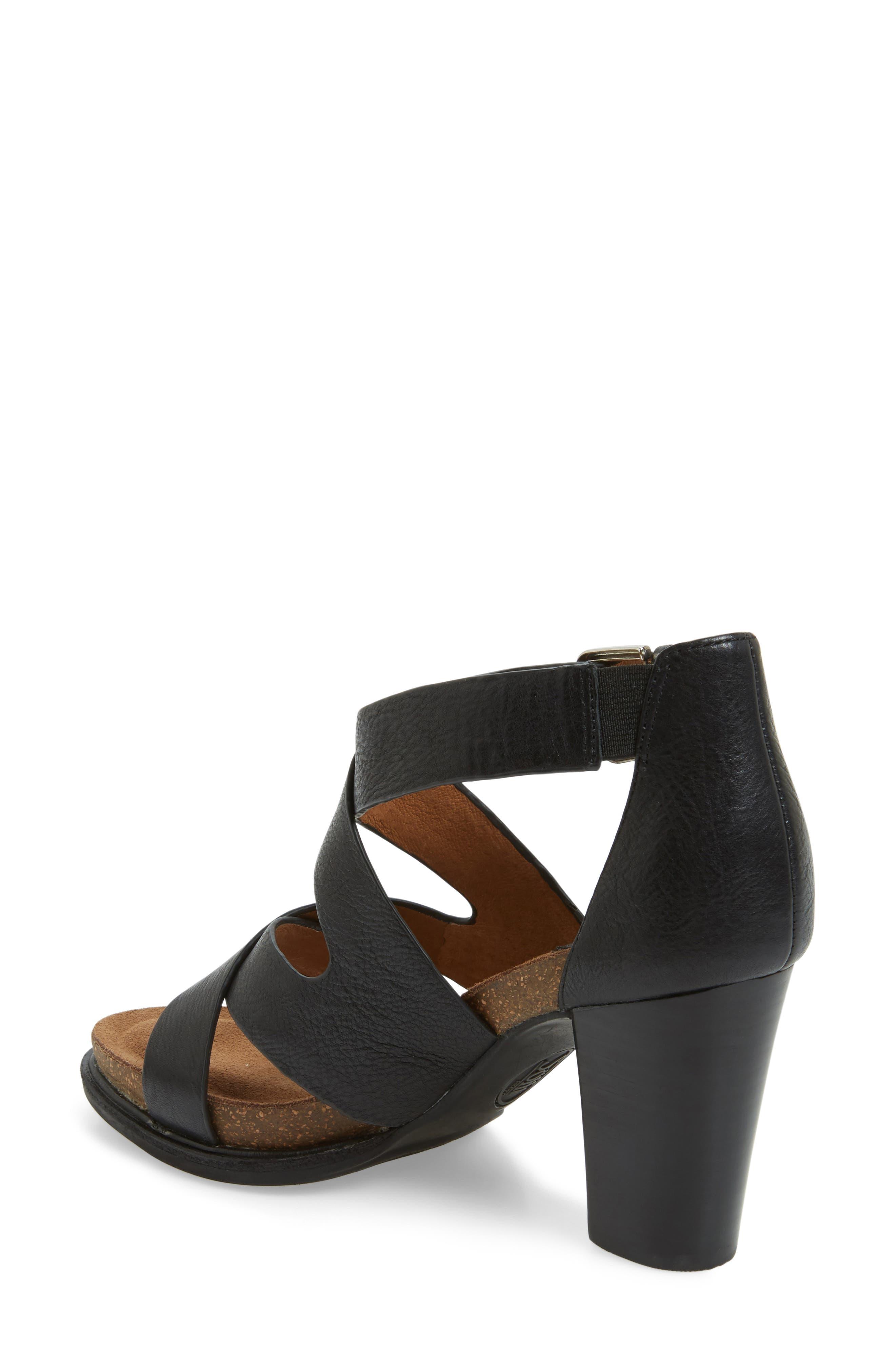 Canita Block Heel Sandal,                             Alternate thumbnail 2, color,                             001