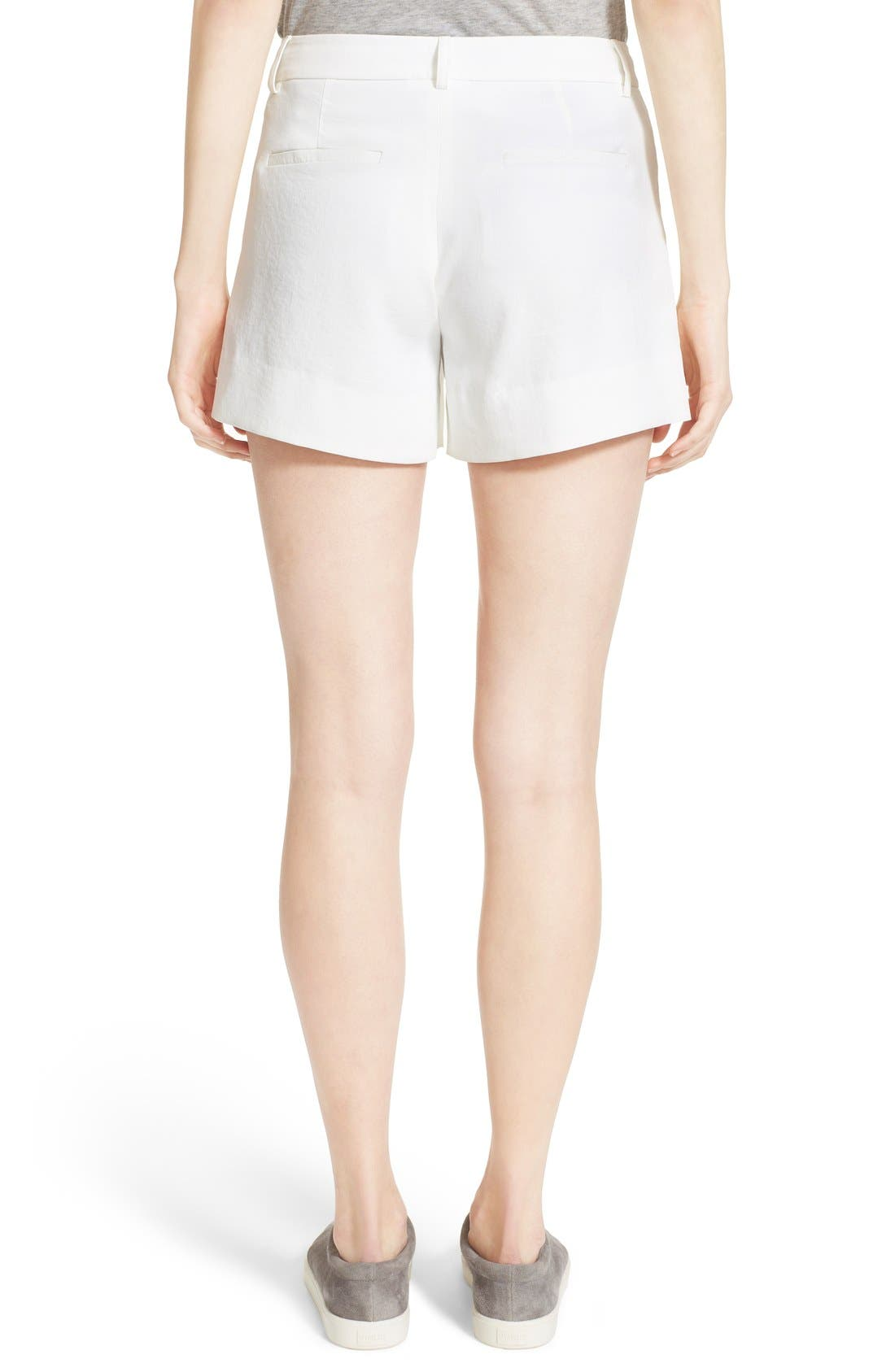 Trouser Shorts,                             Alternate thumbnail 2, color,                             101