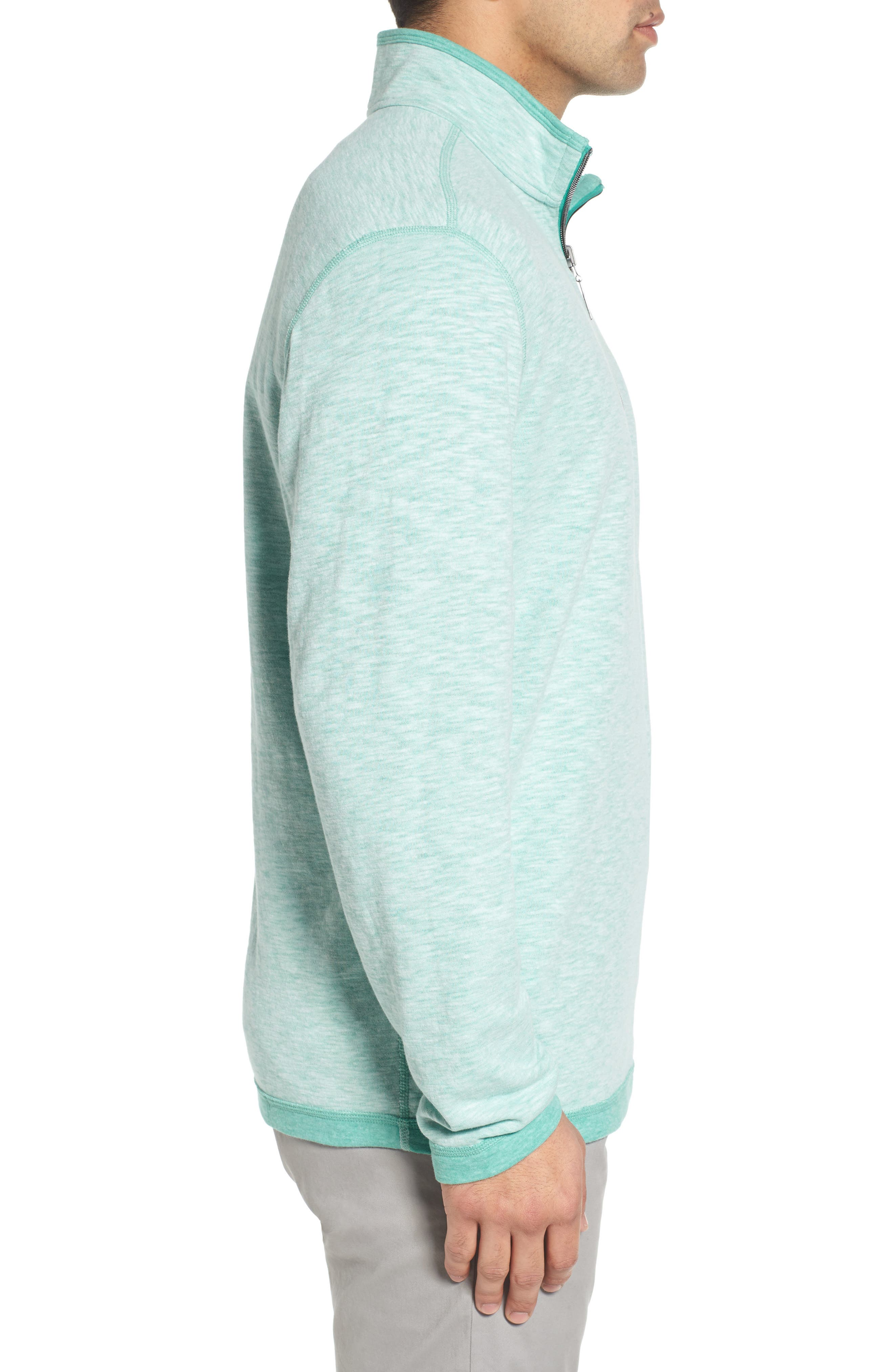 Sea Glass Reversible Quarter Zip Pullover,                             Alternate thumbnail 29, color,