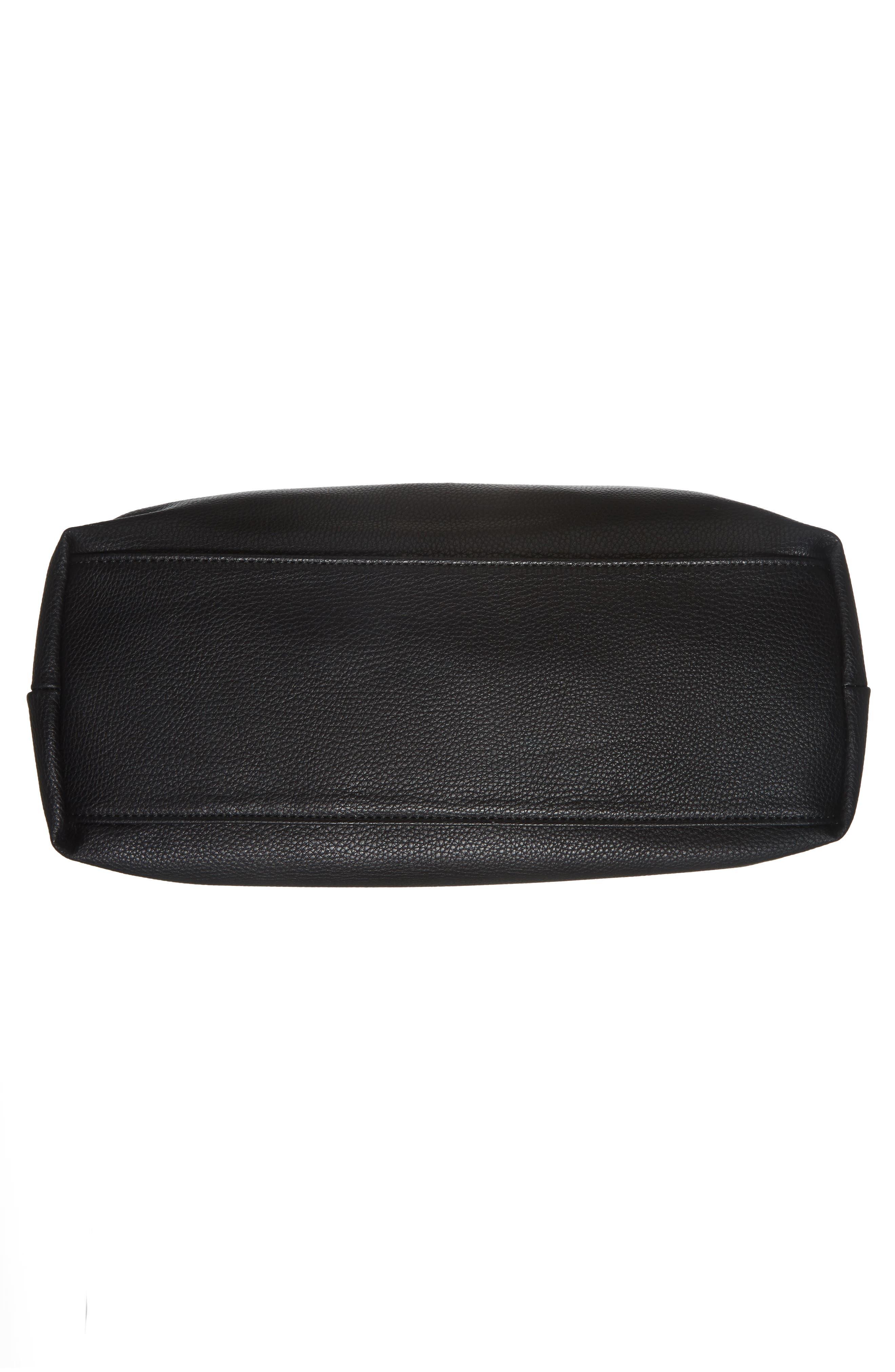 Taylor Faux Leather Shoulder Bag,                             Alternate thumbnail 16, color,