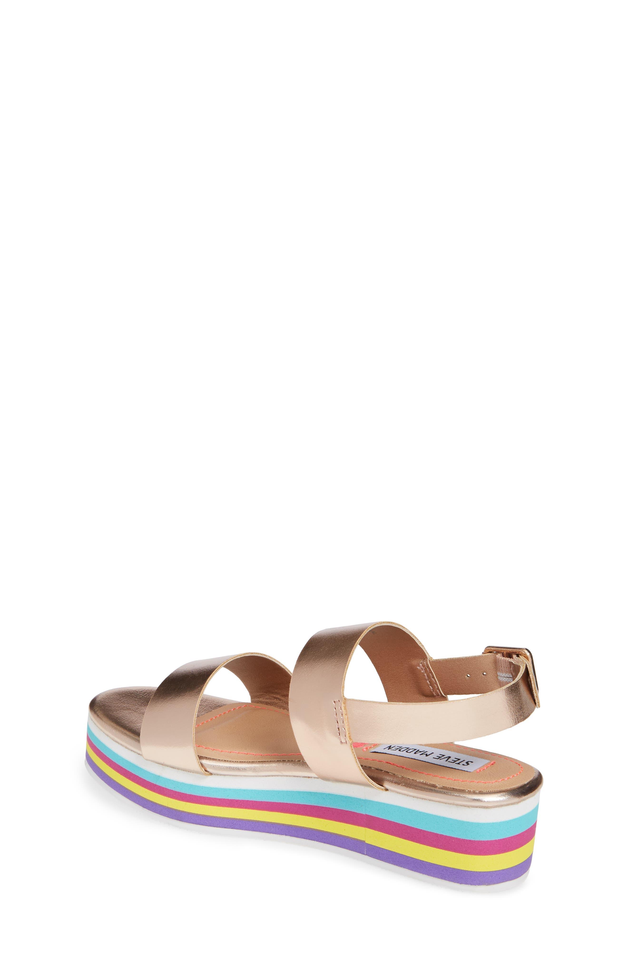 JKylie Platform Sandal,                             Alternate thumbnail 2, color,                             ROSE GOLD