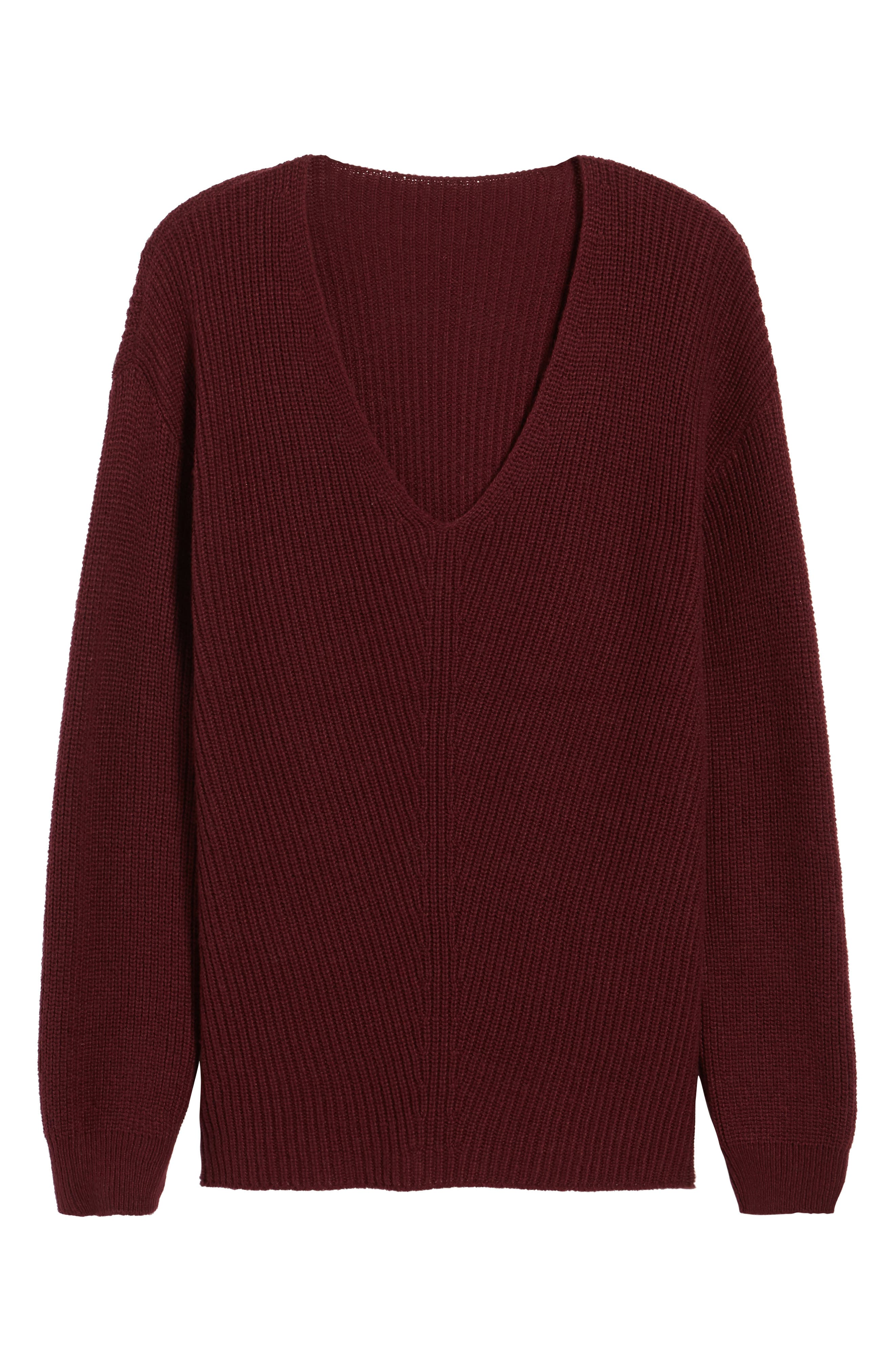 V-Neck Sweater,                             Alternate thumbnail 42, color,