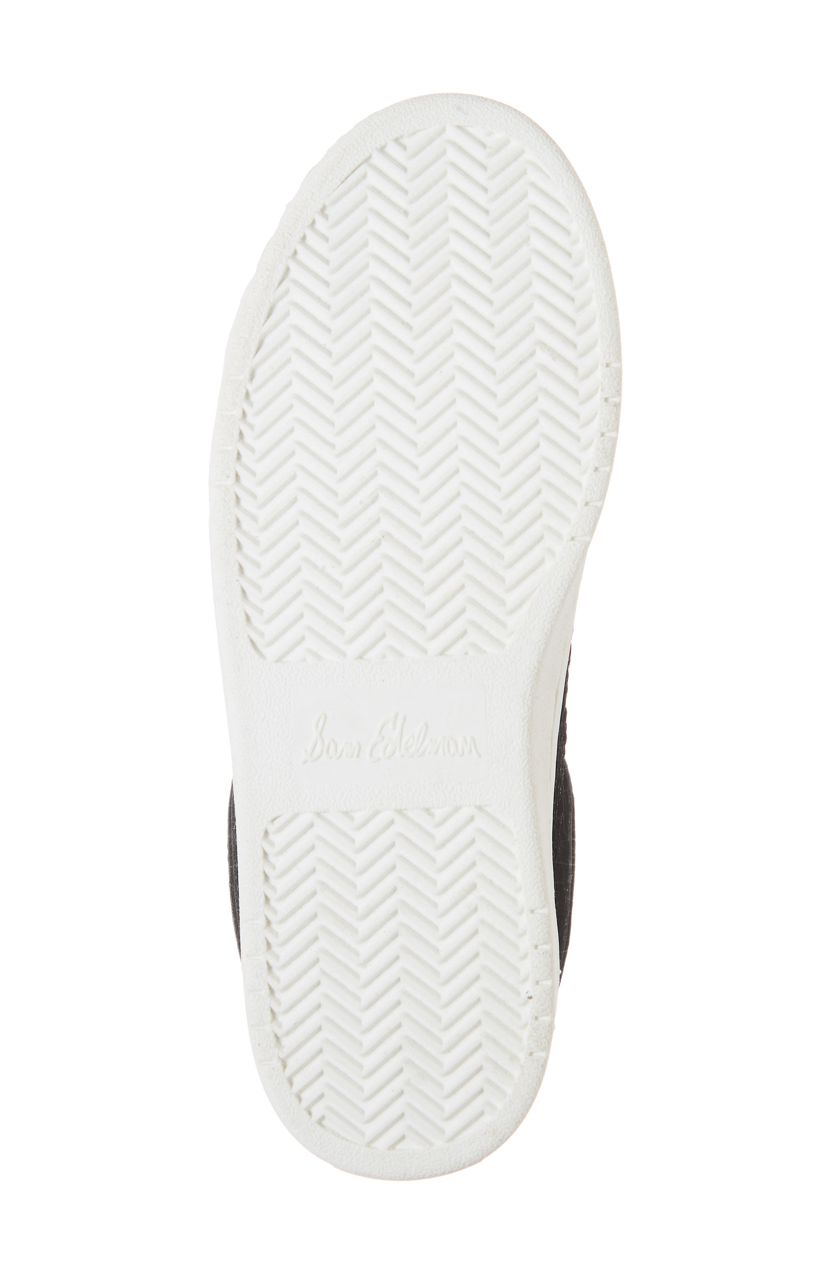 Blane Elizia Sequin Sneaker,                             Alternate thumbnail 6, color,                             BLACK SILVER