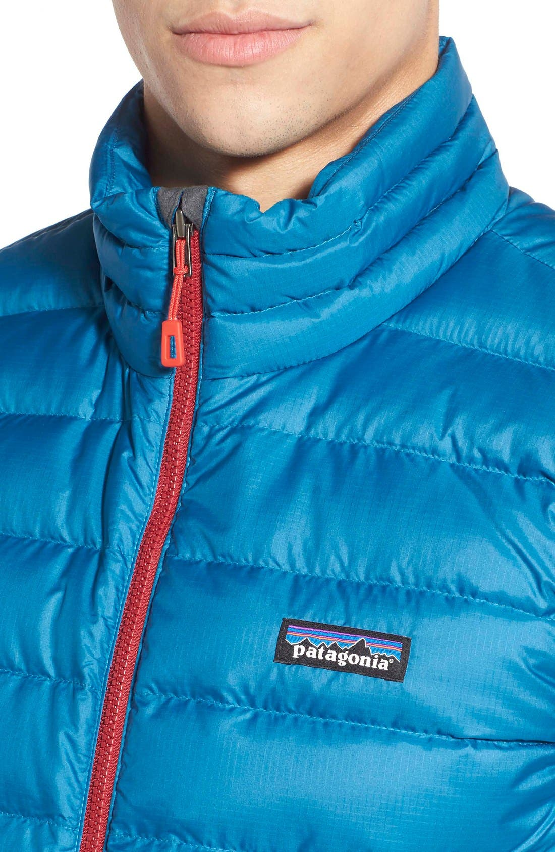 Windproof & Water Resistant 800 Fill Power Down Quilted Vest,                             Alternate thumbnail 35, color,
