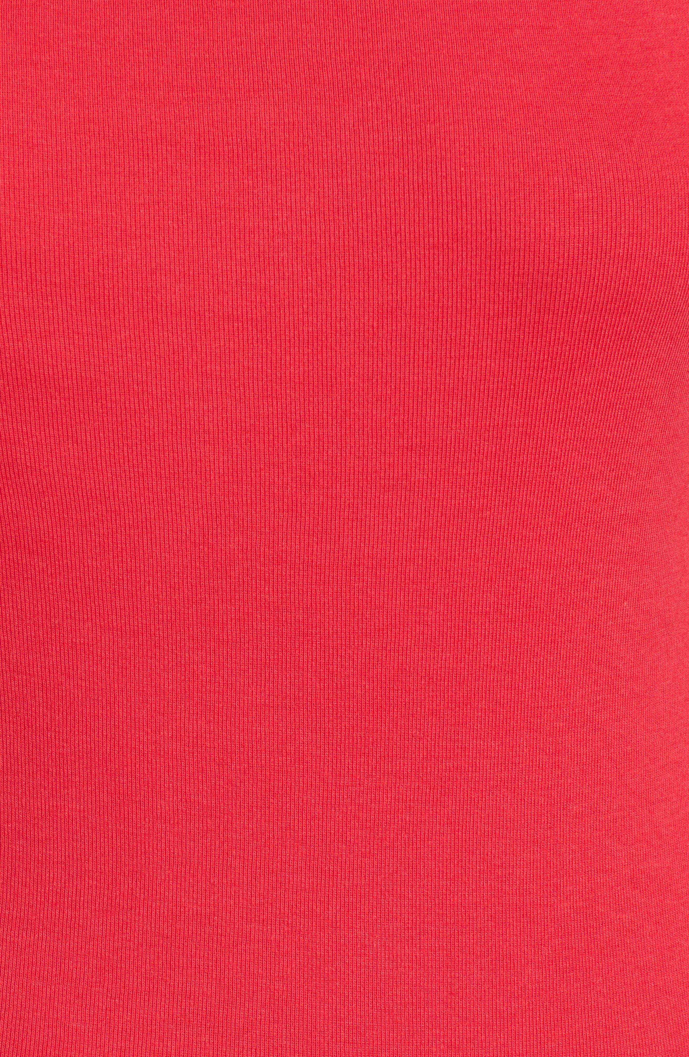 Three Quarter Sleeve Tee,                             Alternate thumbnail 106, color,