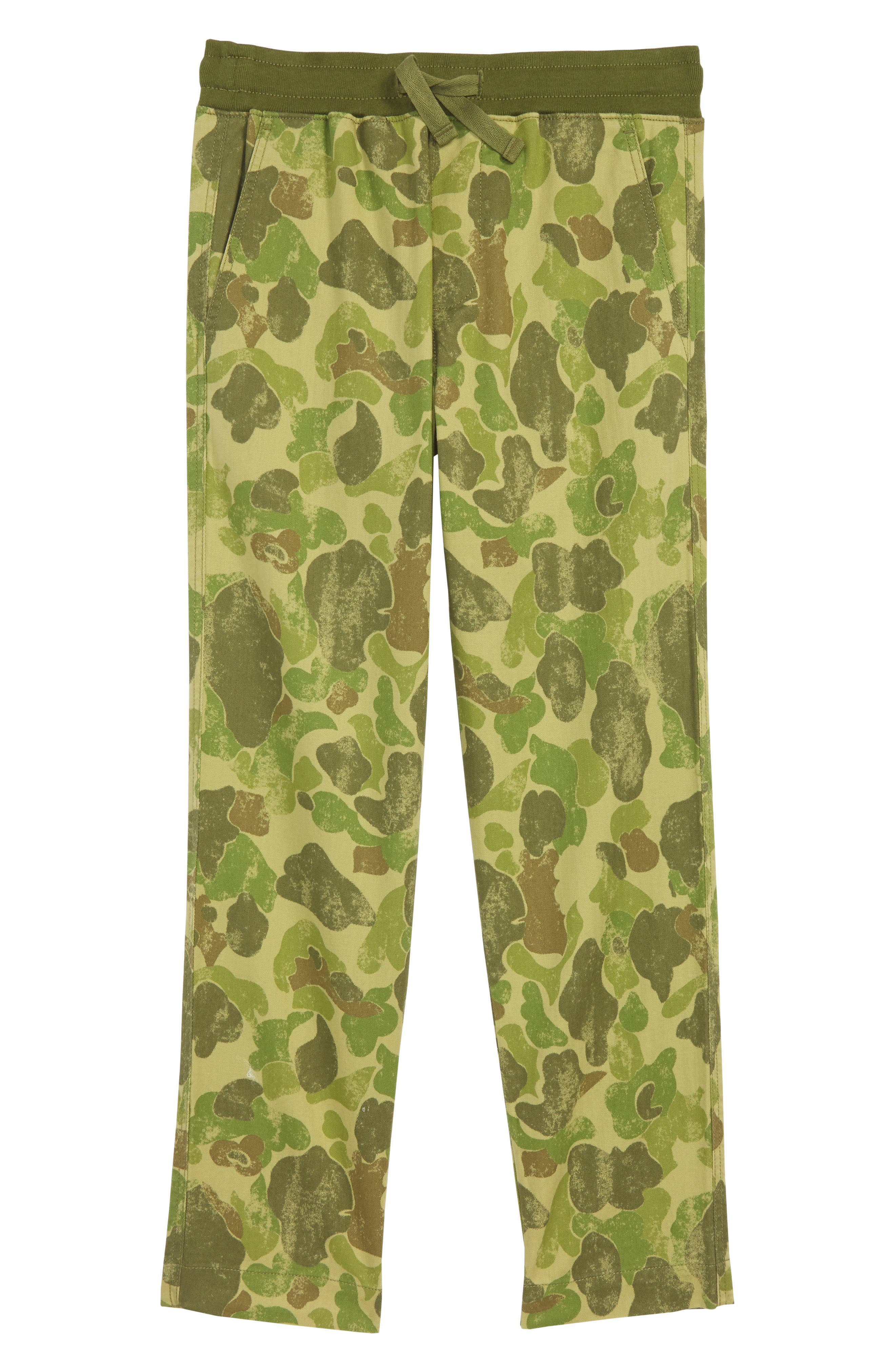 Reinforced Knee Pull On Pants,                         Main,                         color, DUCK HUNTER