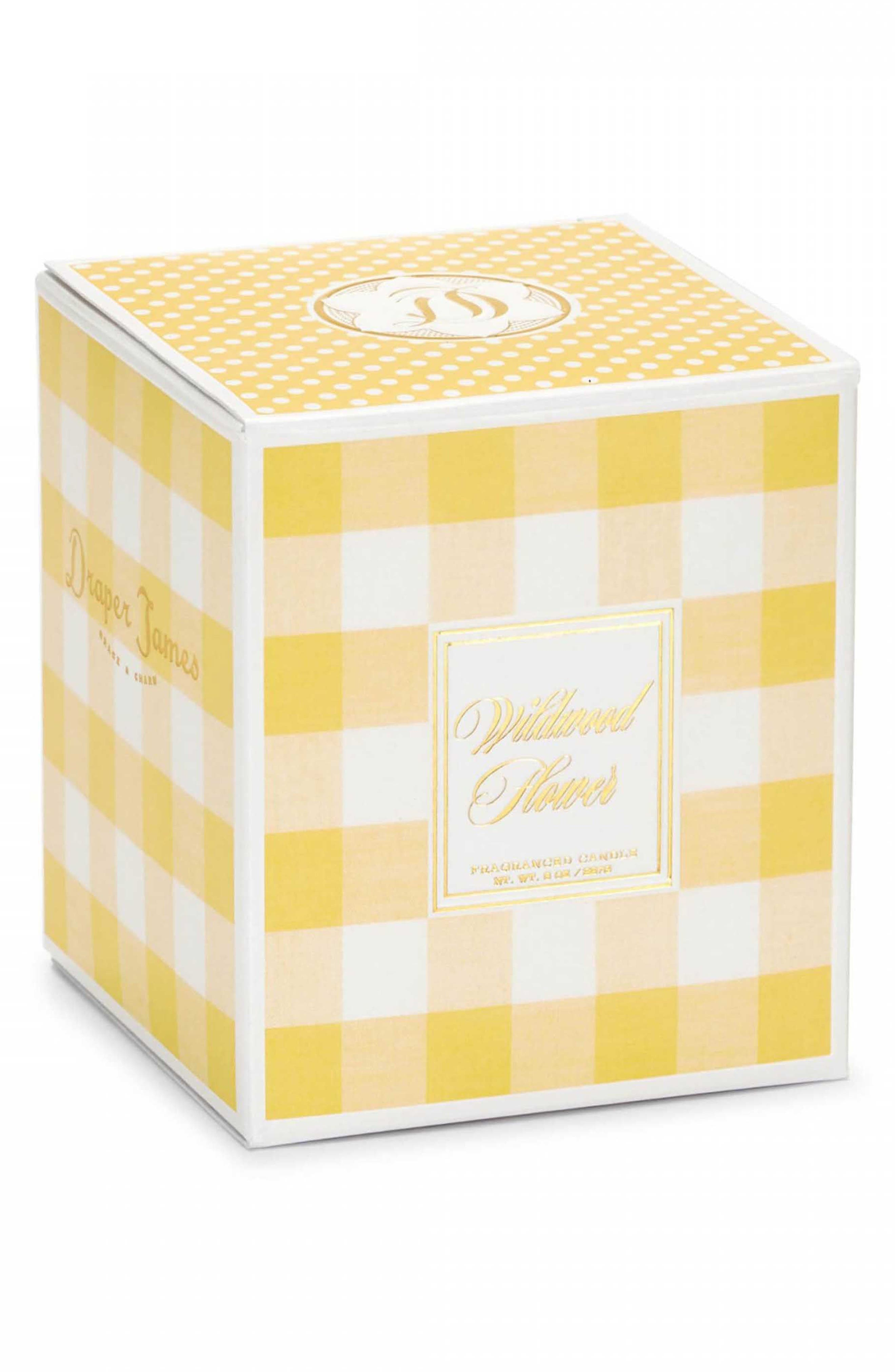 x Votivo Scented Boxed Candle,                             Alternate thumbnail 3, color,                             WILDWOOD FLOWER