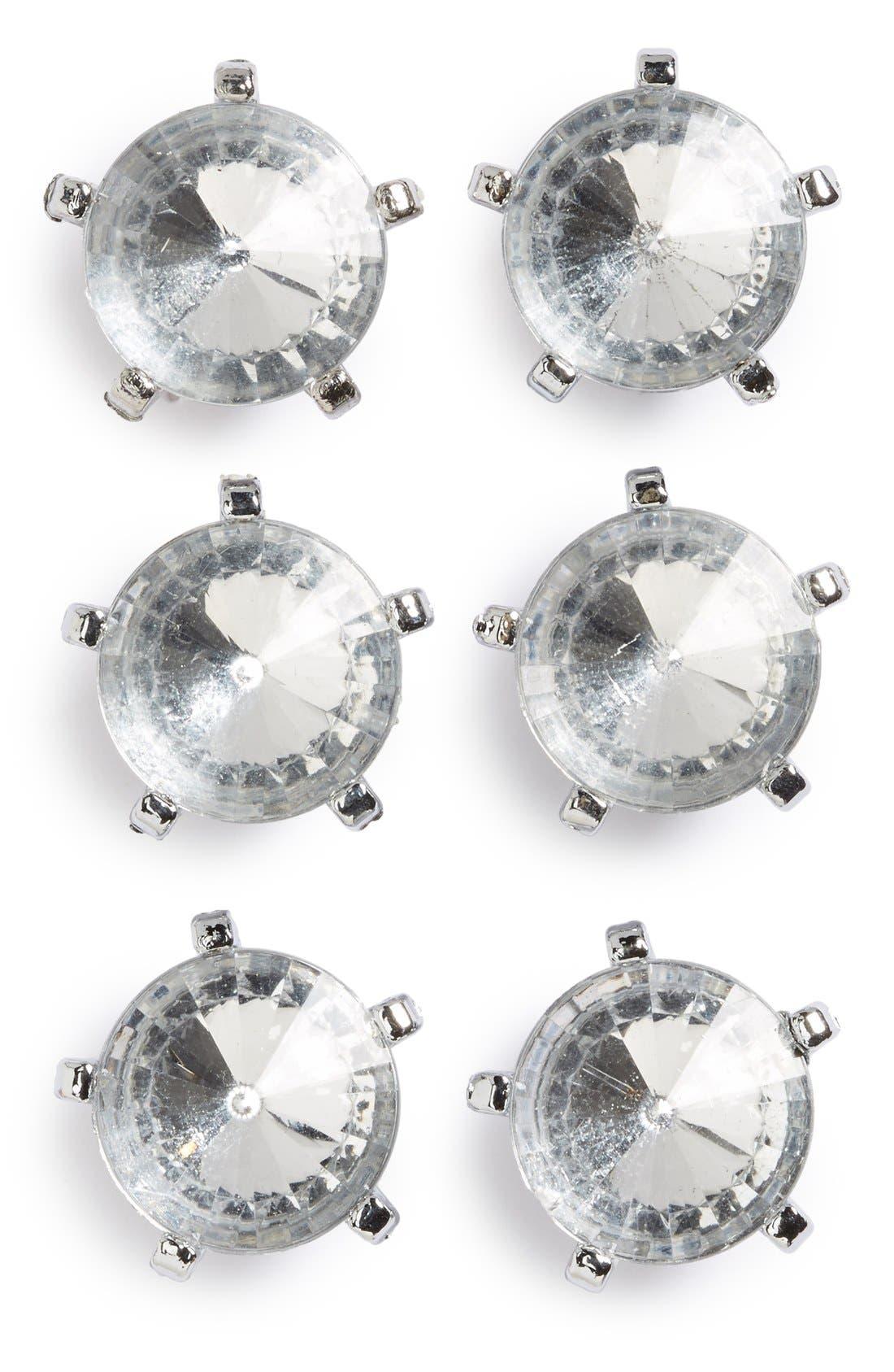 Crystal Push Pins,                             Main thumbnail 1, color,                             040