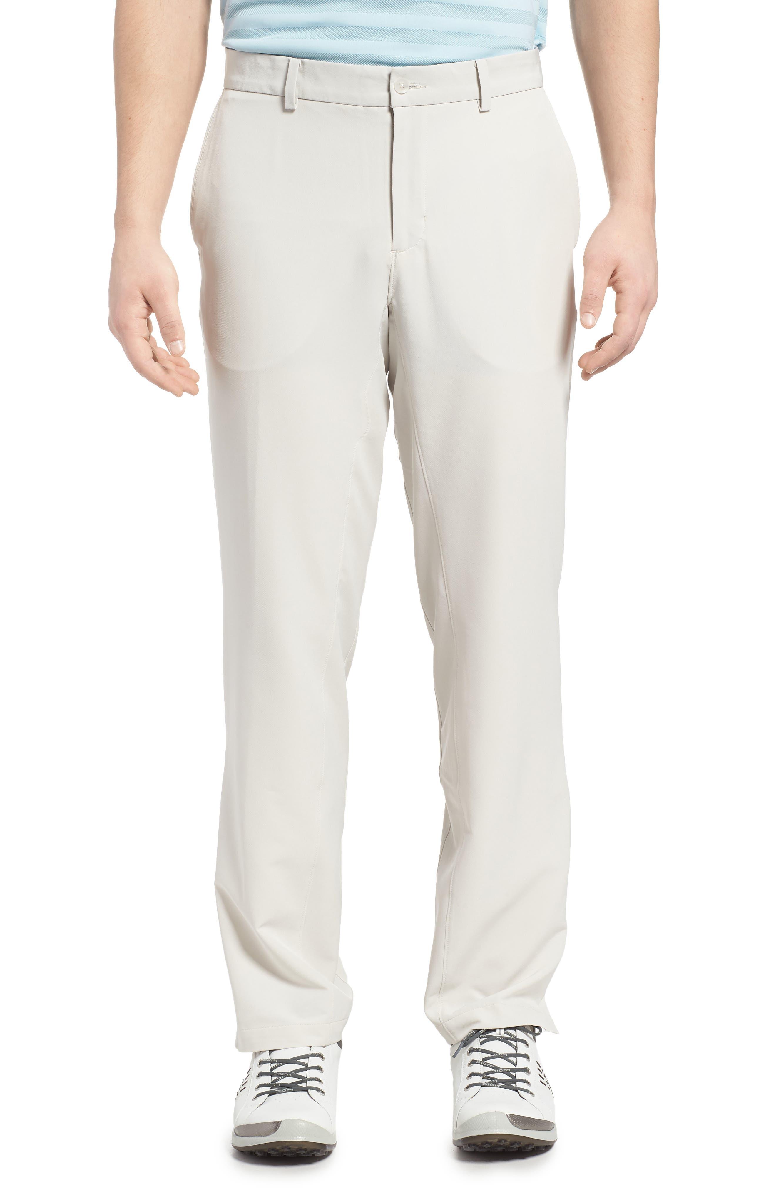 NIKE,                             Hybrid Flex Golf Pants,                             Main thumbnail 1, color,                             LIGHT BONE/ LIGHT BONE