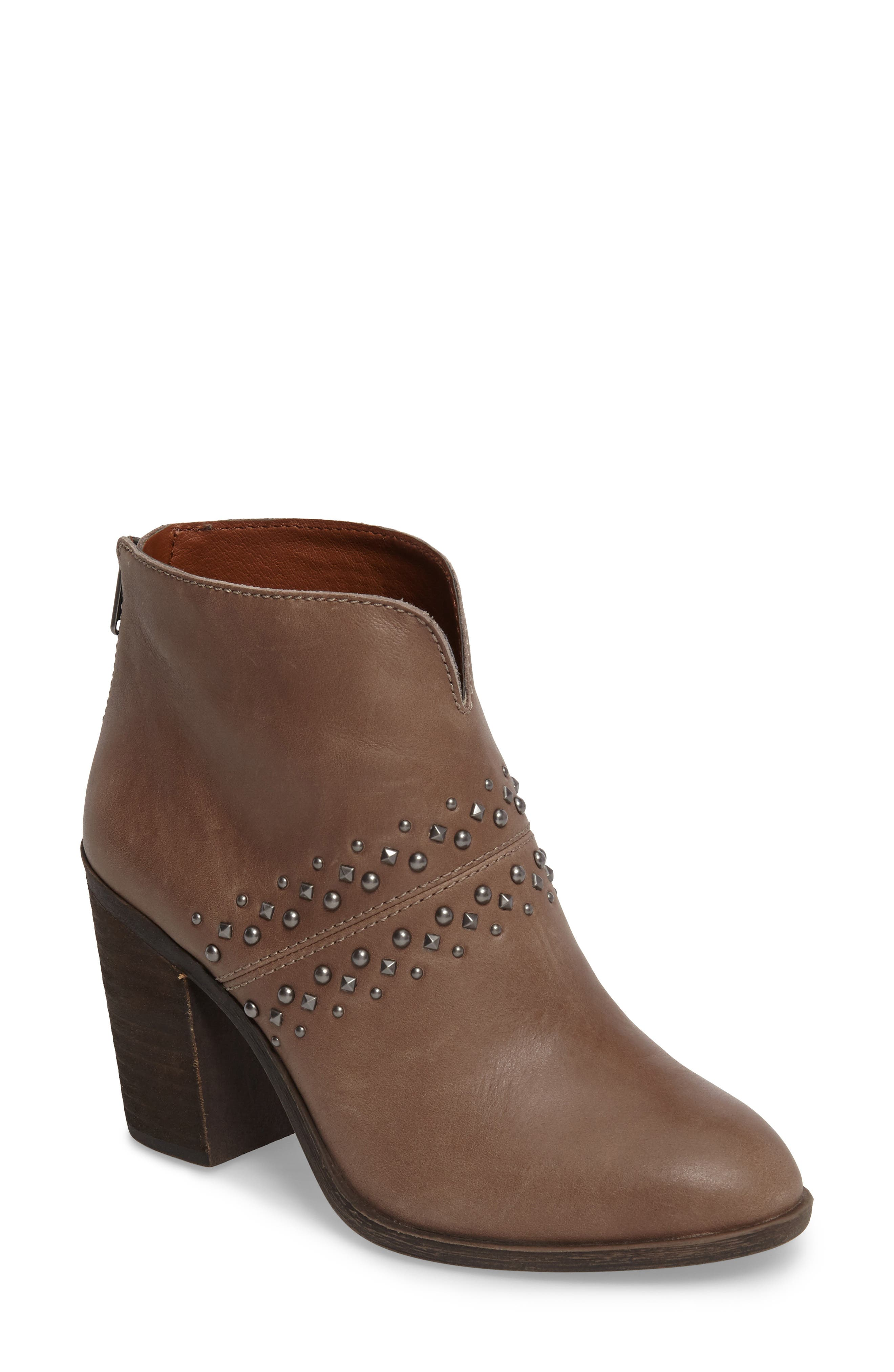Sancha Studded Bootie,                             Main thumbnail 2, color,