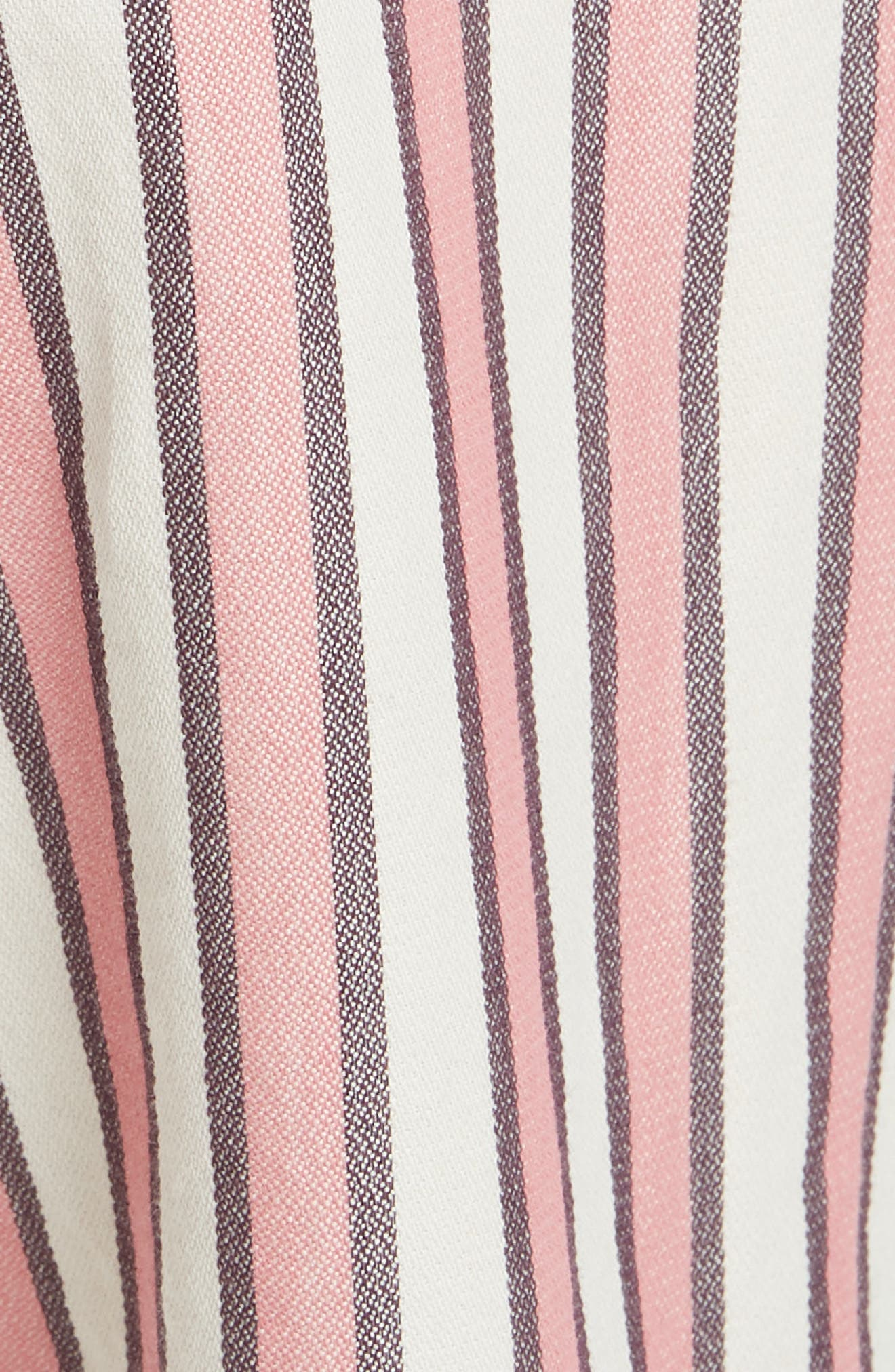 The Convertible Trousers,                             Alternate thumbnail 5, color,                             PINK TAFFY STRIPE