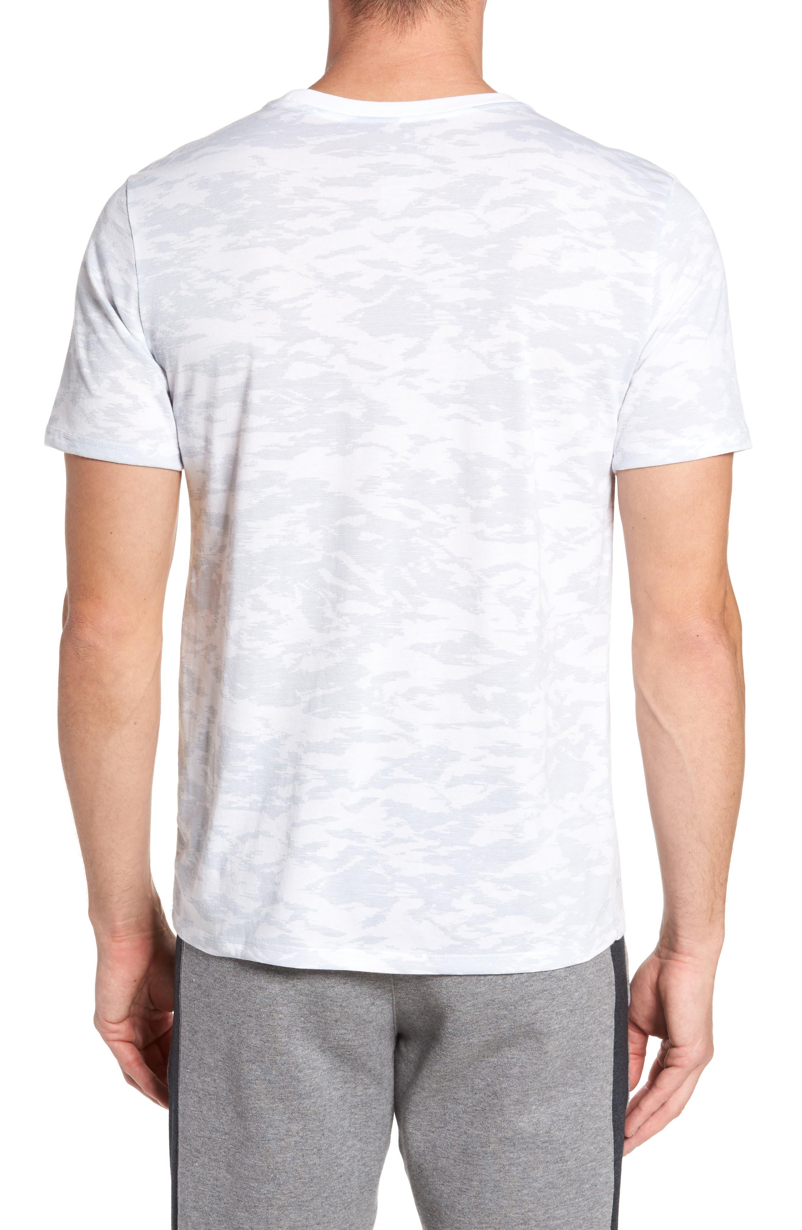 Basketball Attack Logo T-Shirt,                             Alternate thumbnail 2, color,                             100