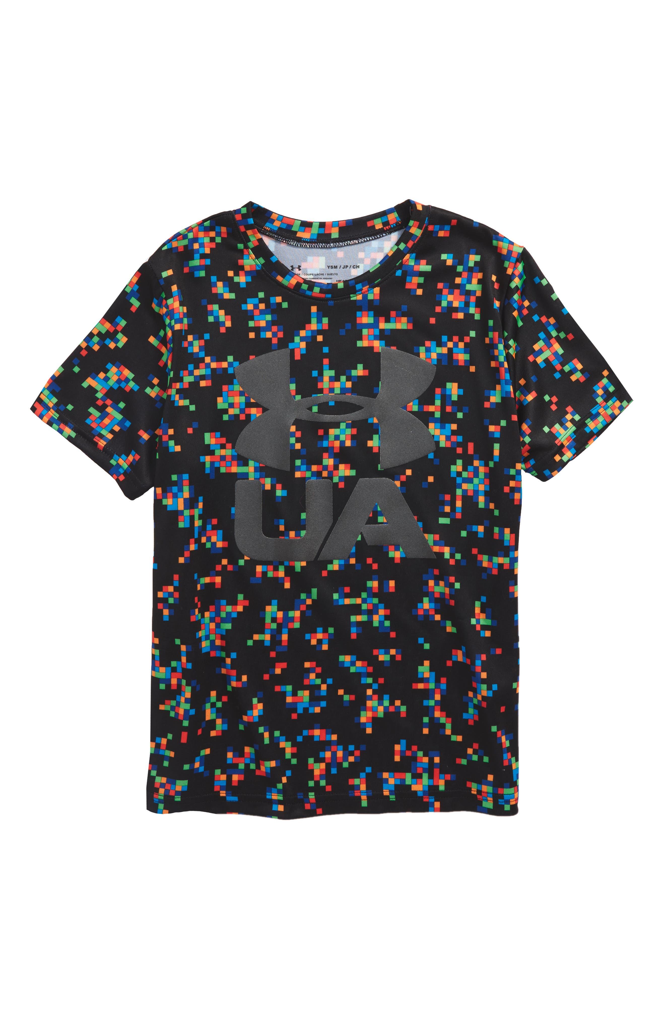 Crossfade HeatGear<sup>®</sup> T-Shirt,                             Main thumbnail 1, color,                             002