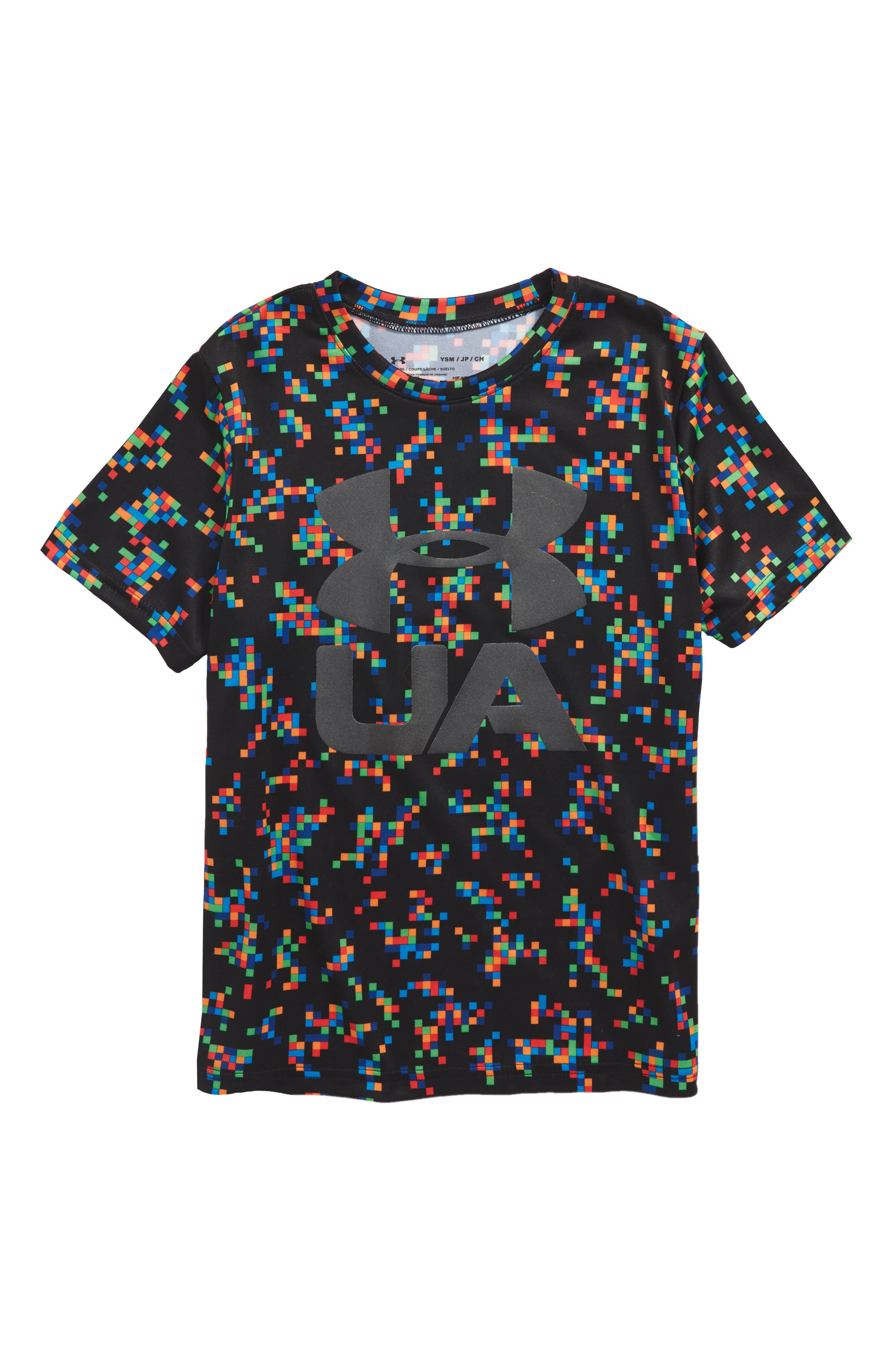 Crossfade HeatGear<sup>®</sup> T-Shirt,                         Main,                         color, 002