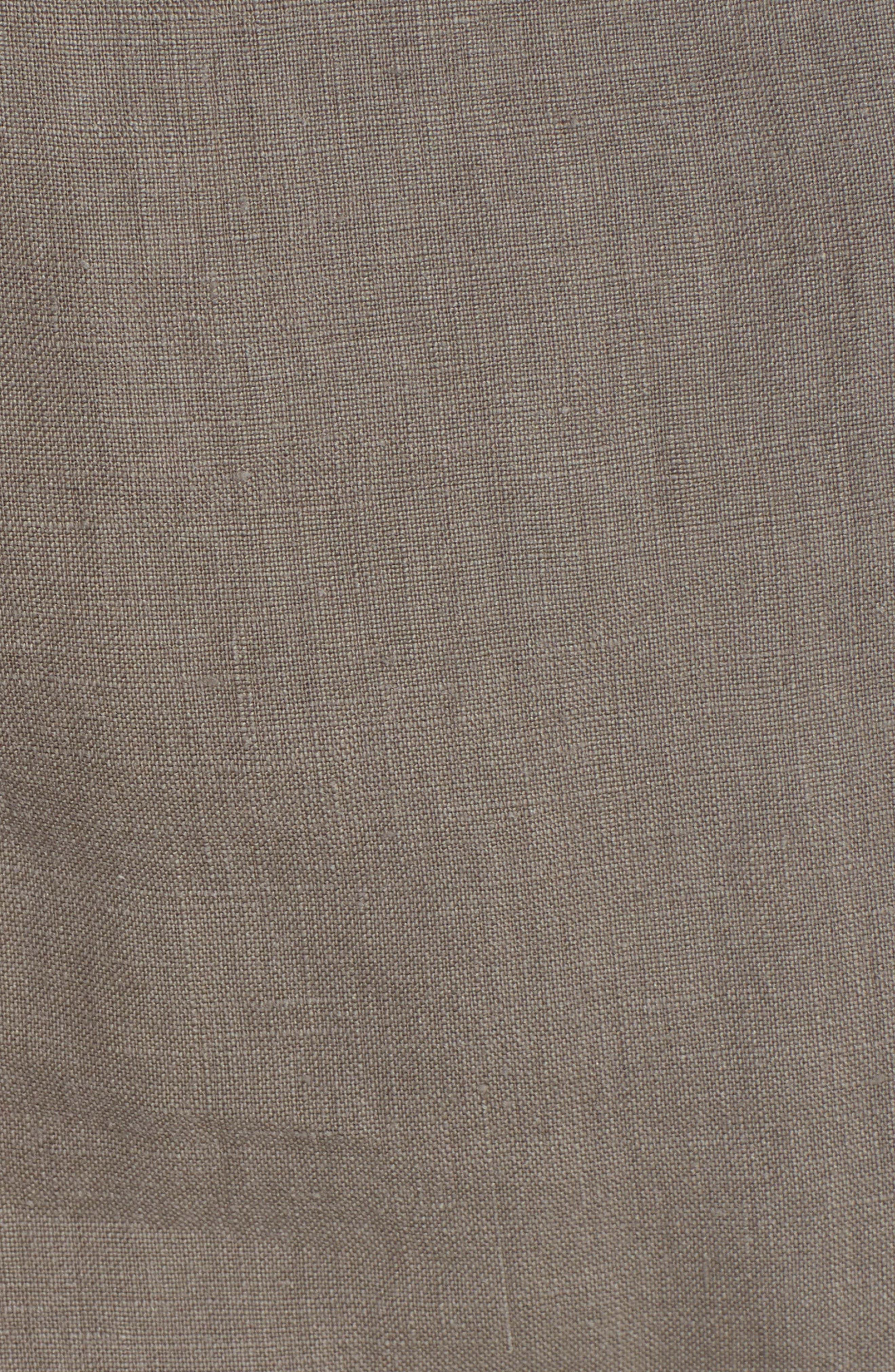 Quora Ruffle Linen Dress,                             Alternate thumbnail 10, color,