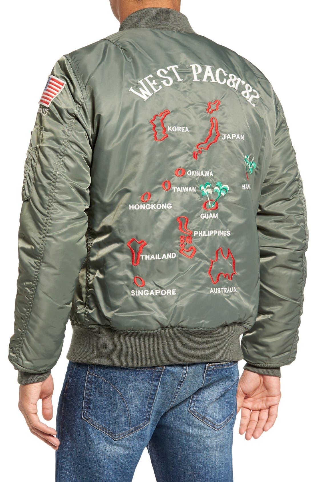 Souvenir MA-1 Flight Jacket,                             Alternate thumbnail 5, color,