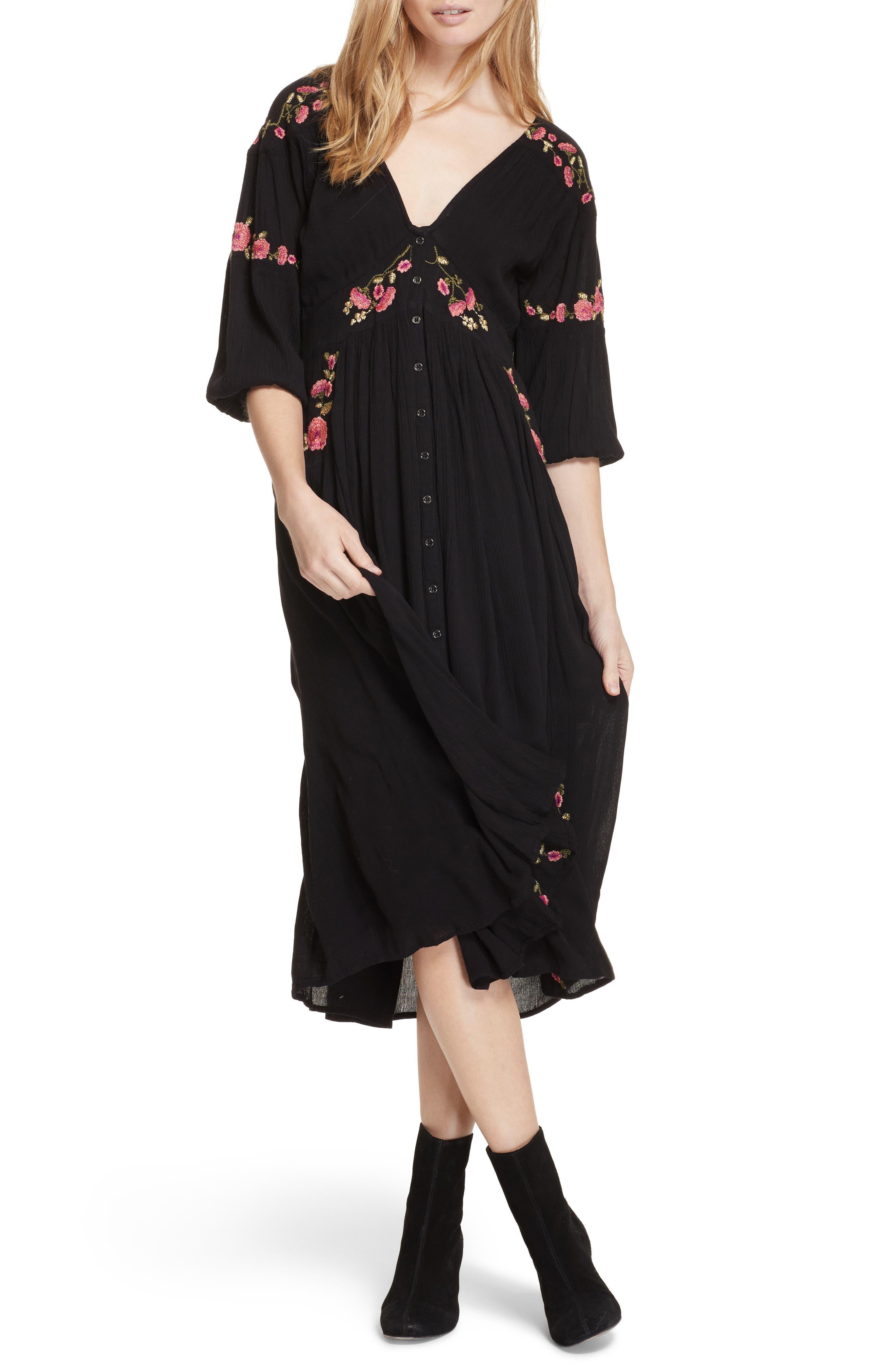 Day Glow Midi Dress,                             Main thumbnail 1, color,                             019