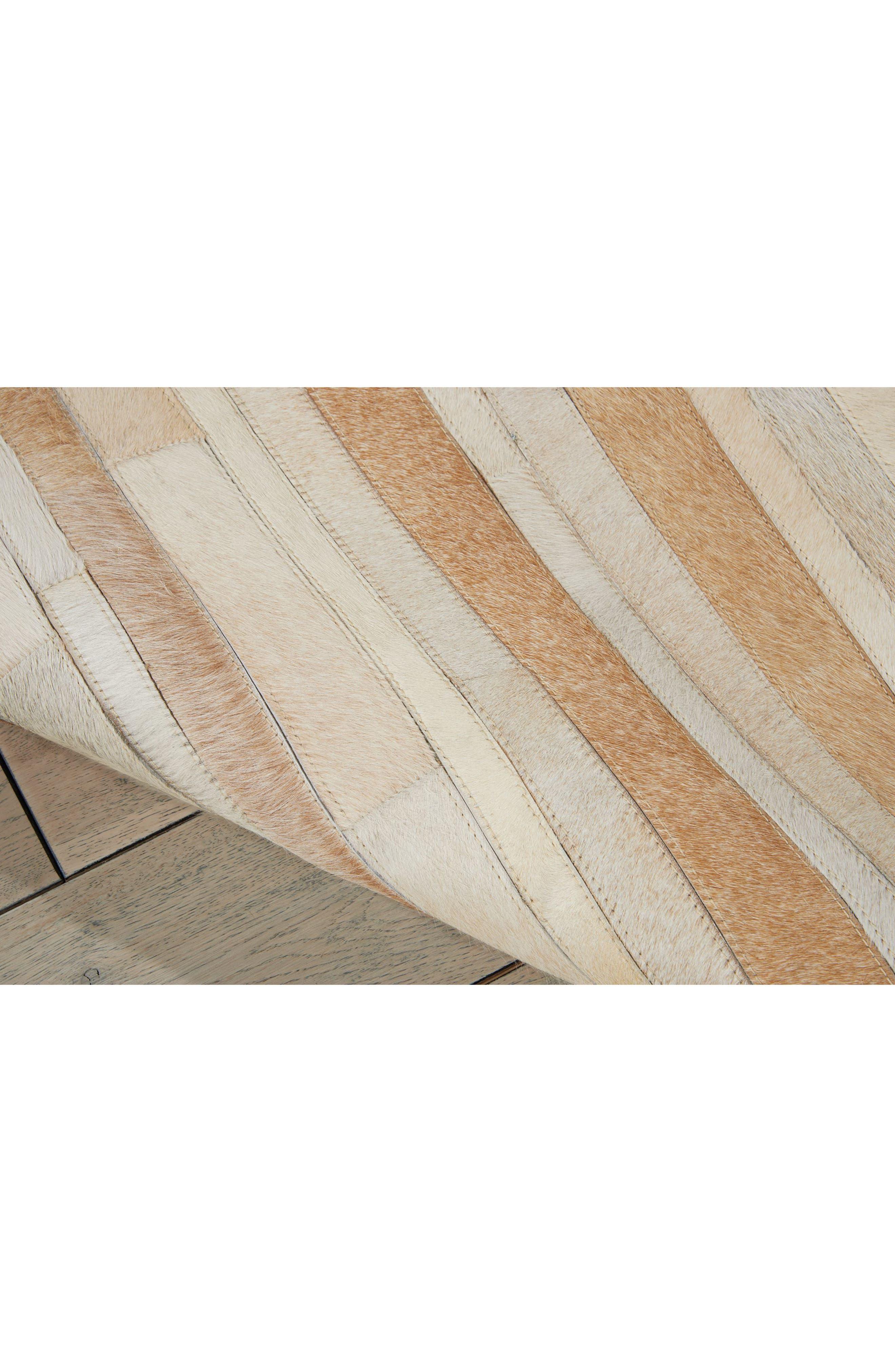 Home Prairie Genuine Calf Hair Area Rug,                             Alternate thumbnail 25, color,