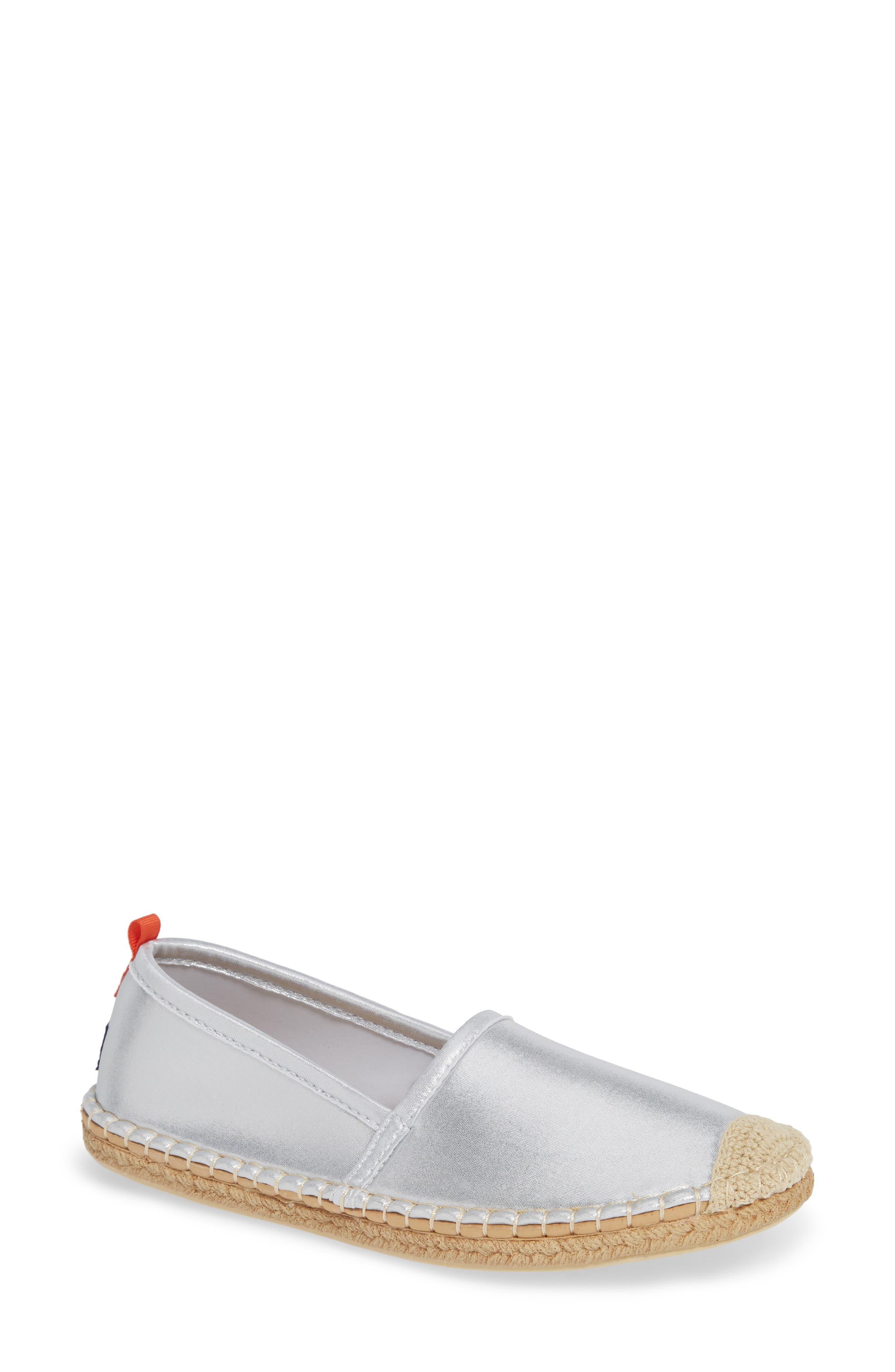 Beachcomber Espadrille Water Shoe in Platinum Neoprene