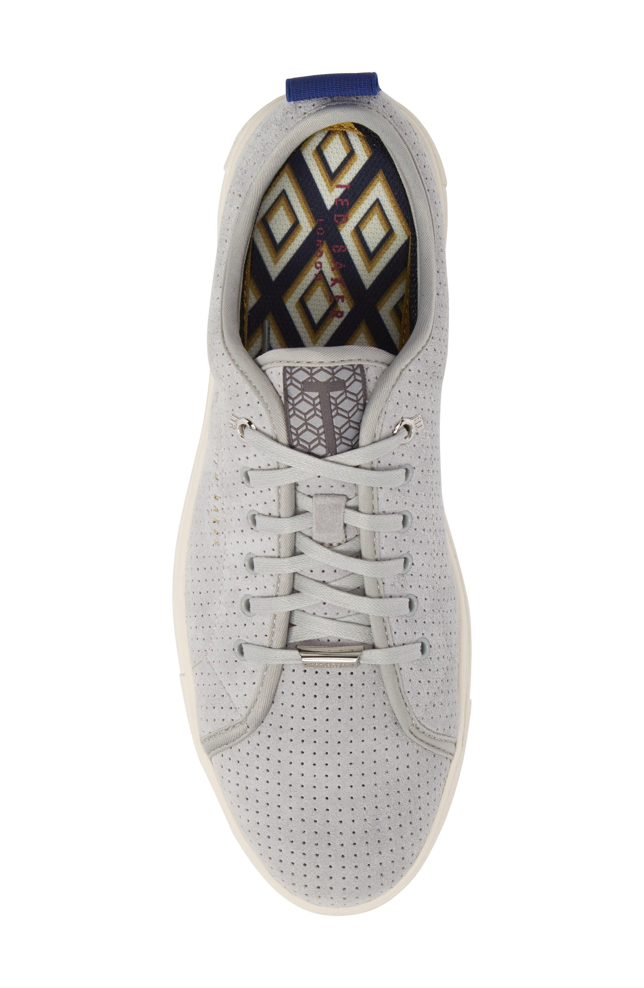 Kaliix Perforated Low Top Sneaker,                             Alternate thumbnail 5, color,                             070