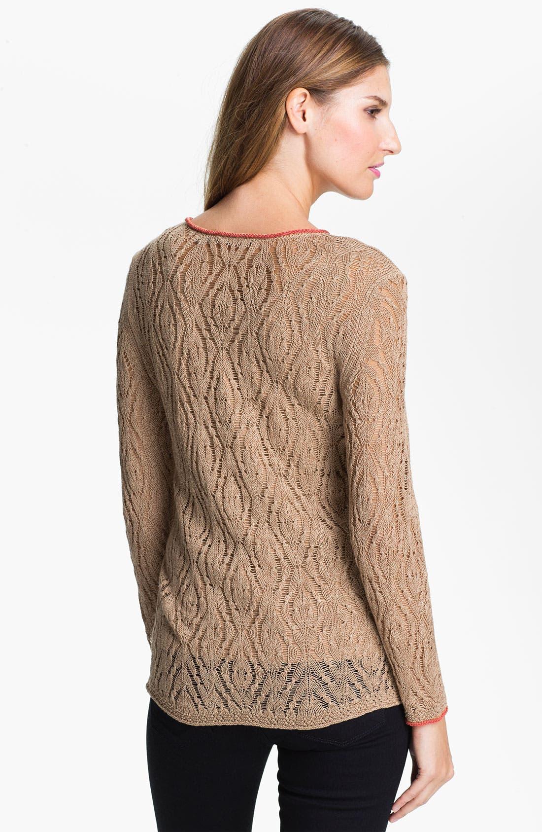 Nic + Zoe 'Starfish' Sweater,                             Alternate thumbnail 2, color,                             250