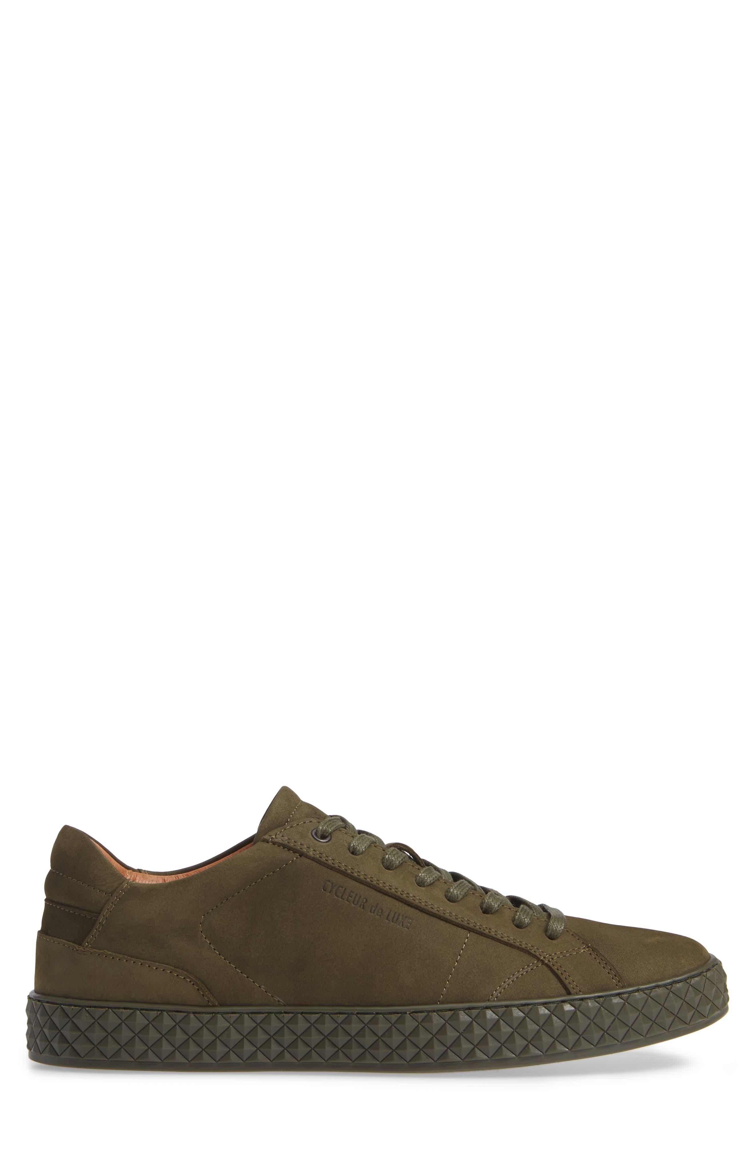 Bratislava Low Top Sneaker,                             Alternate thumbnail 3, color,                             MILITARY GREEN