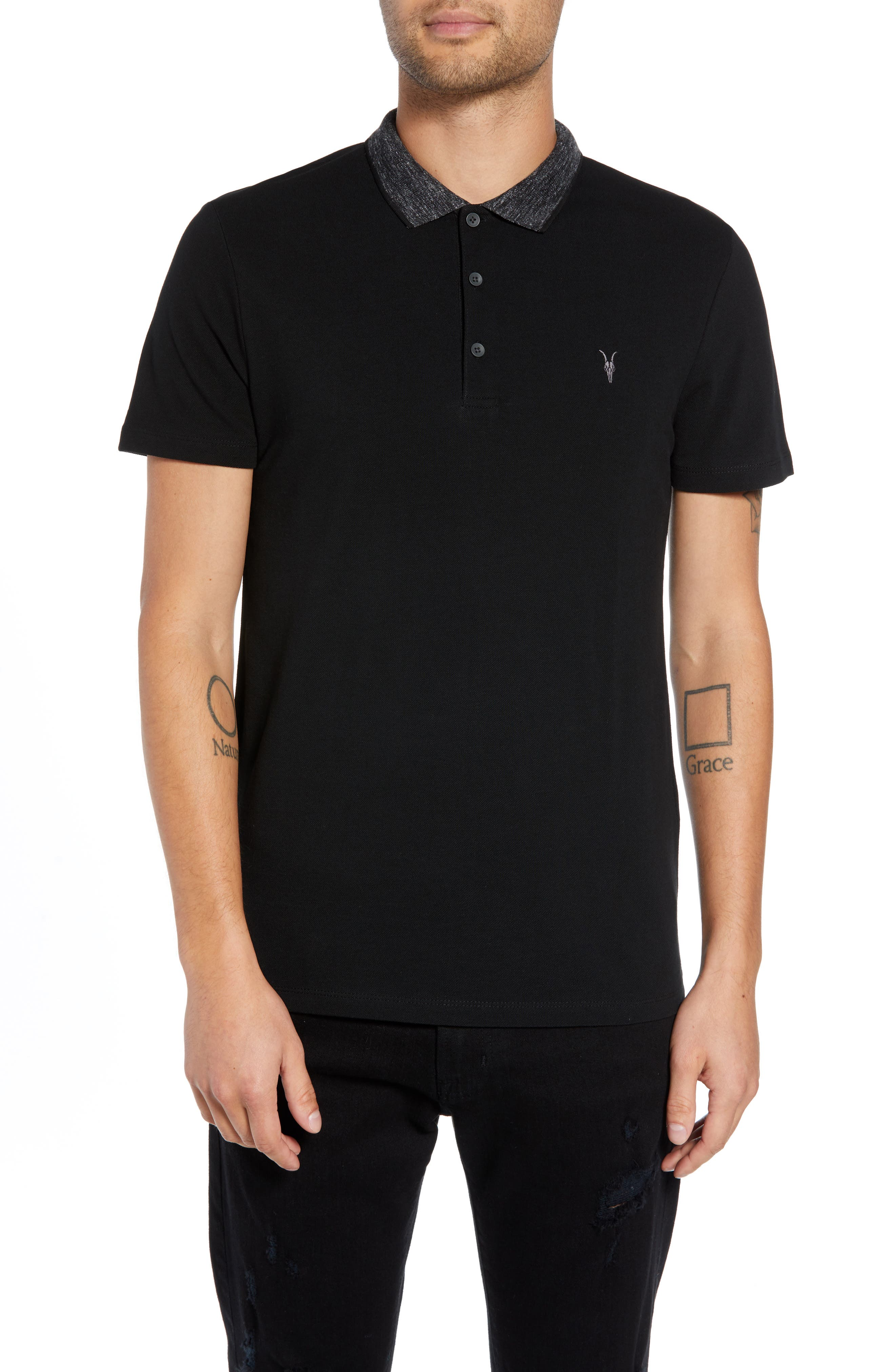 Baytown Slim Fit Polo,                         Main,                         color, 003