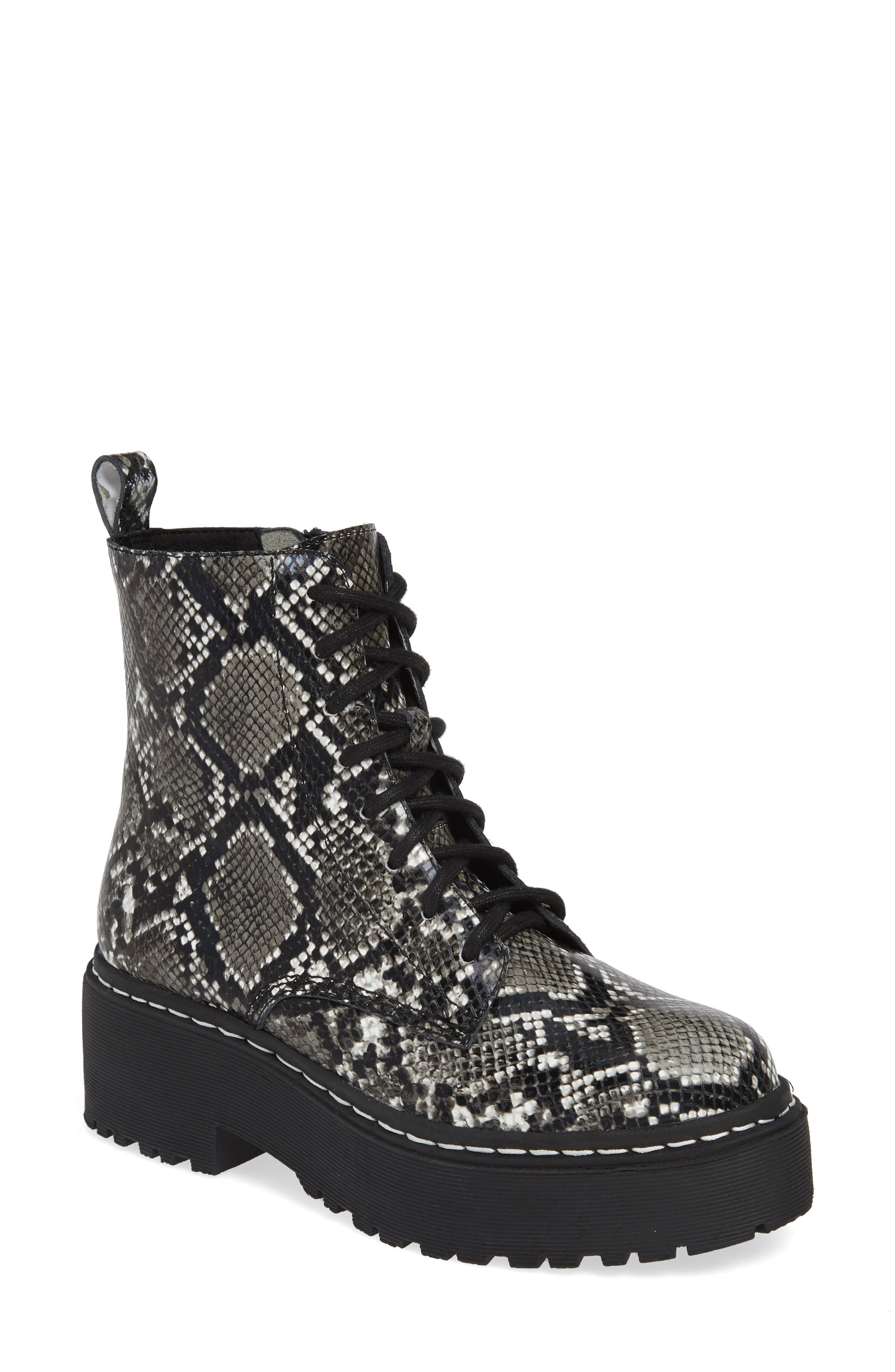 Jeffrey Campbell District Combat Boot- Grey