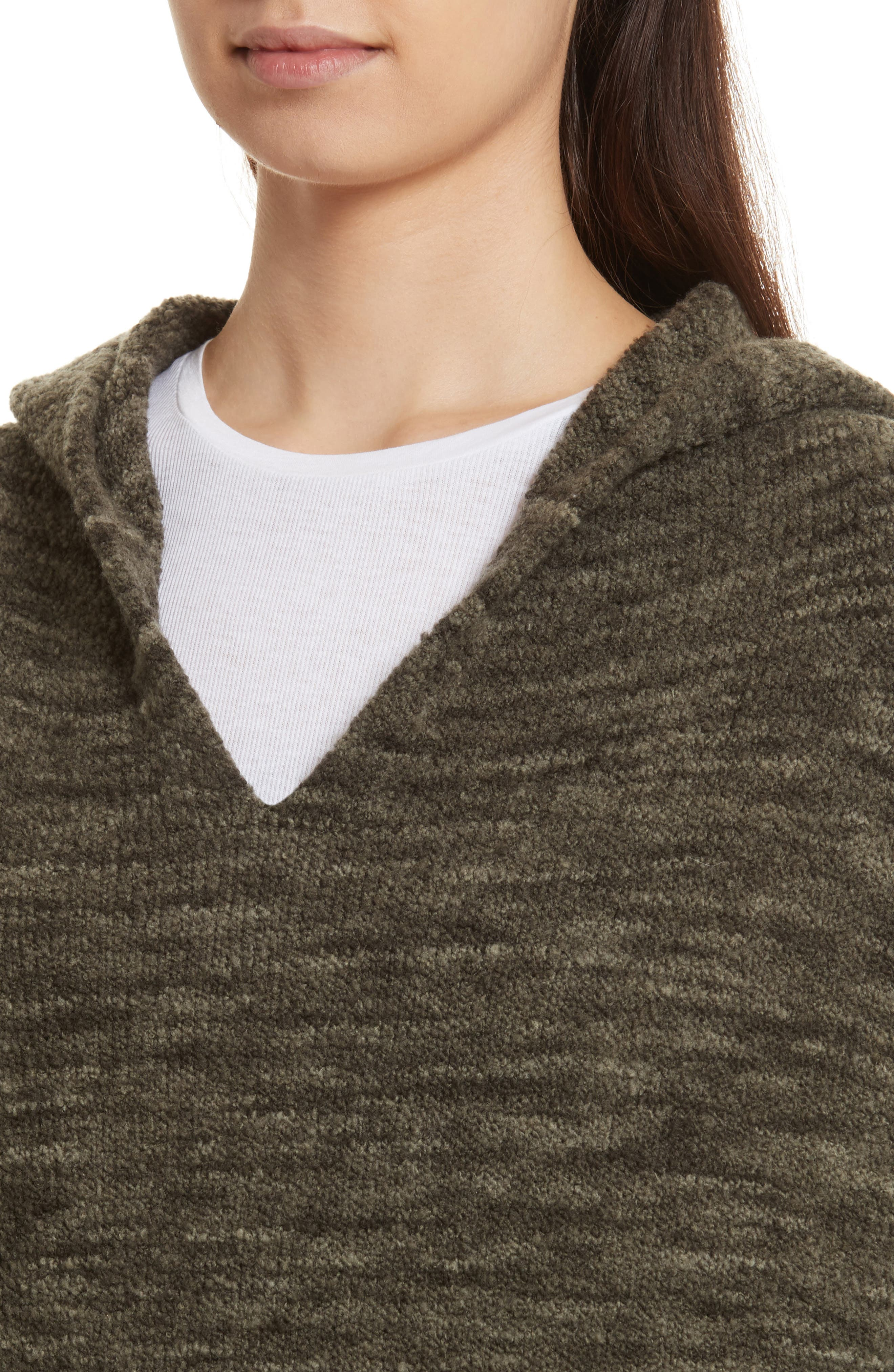 Space Dye Hoodie Sweater,                             Alternate thumbnail 4, color,                             343