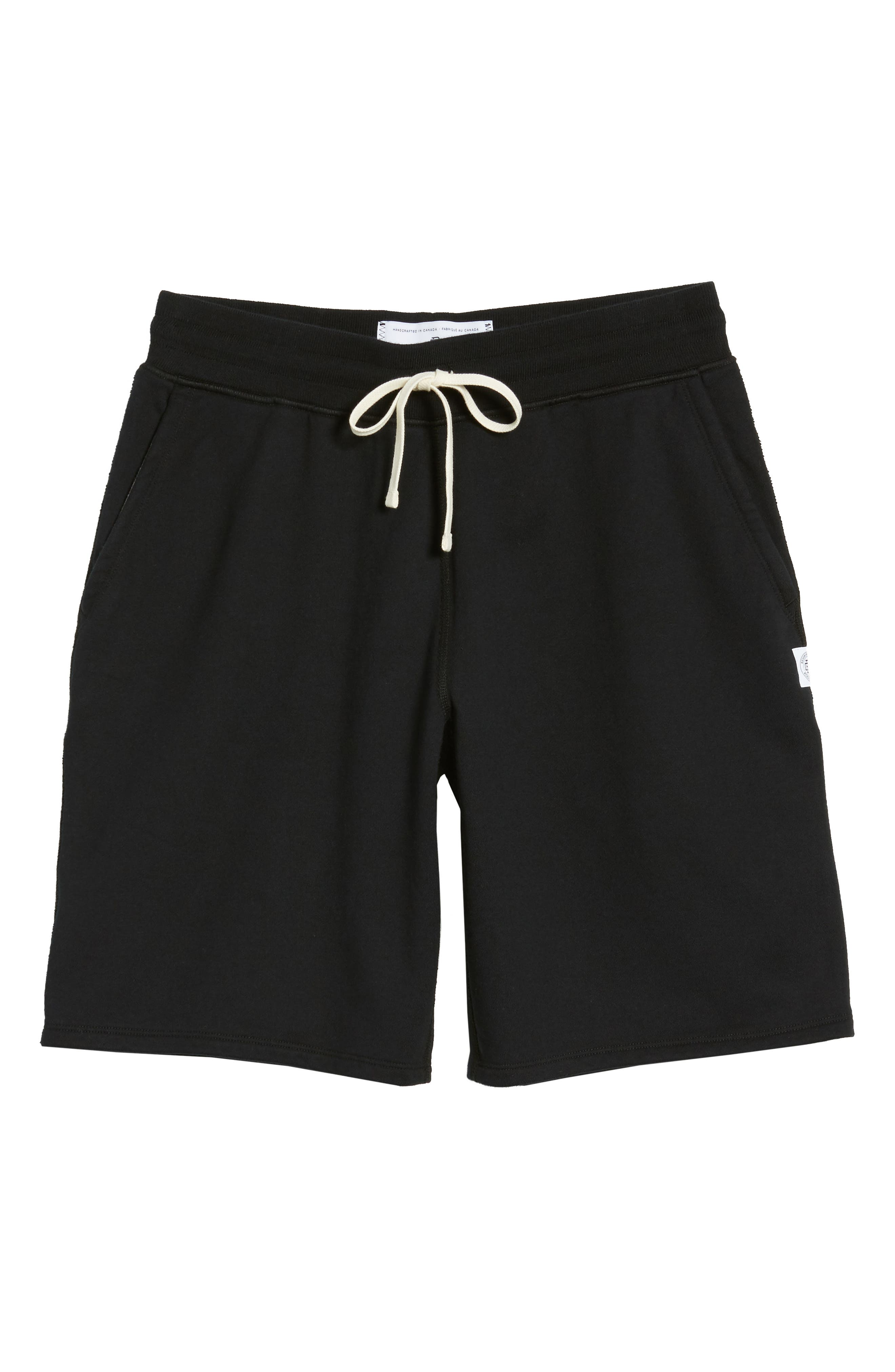 Terry Cotton Sweat Shorts,                             Alternate thumbnail 2, color,                             001