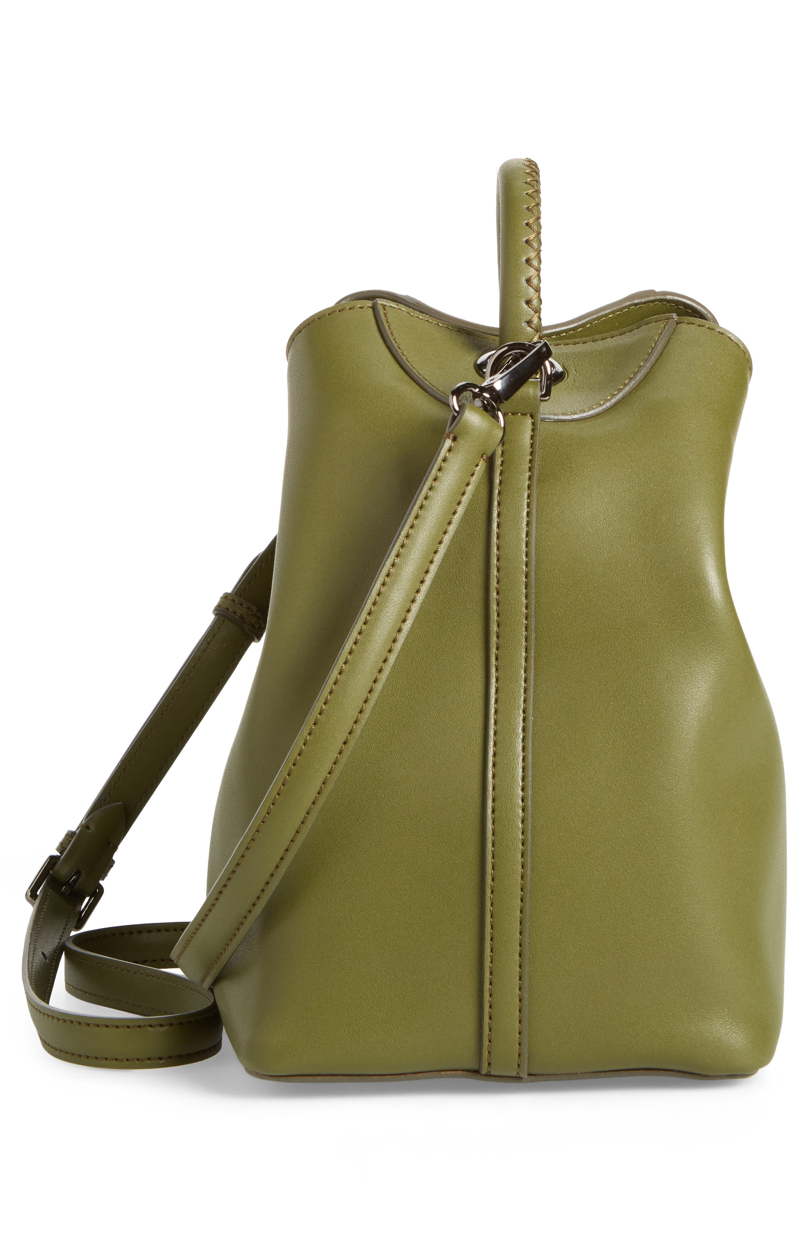 Raisin Leather Handbag,                             Alternate thumbnail 36, color,