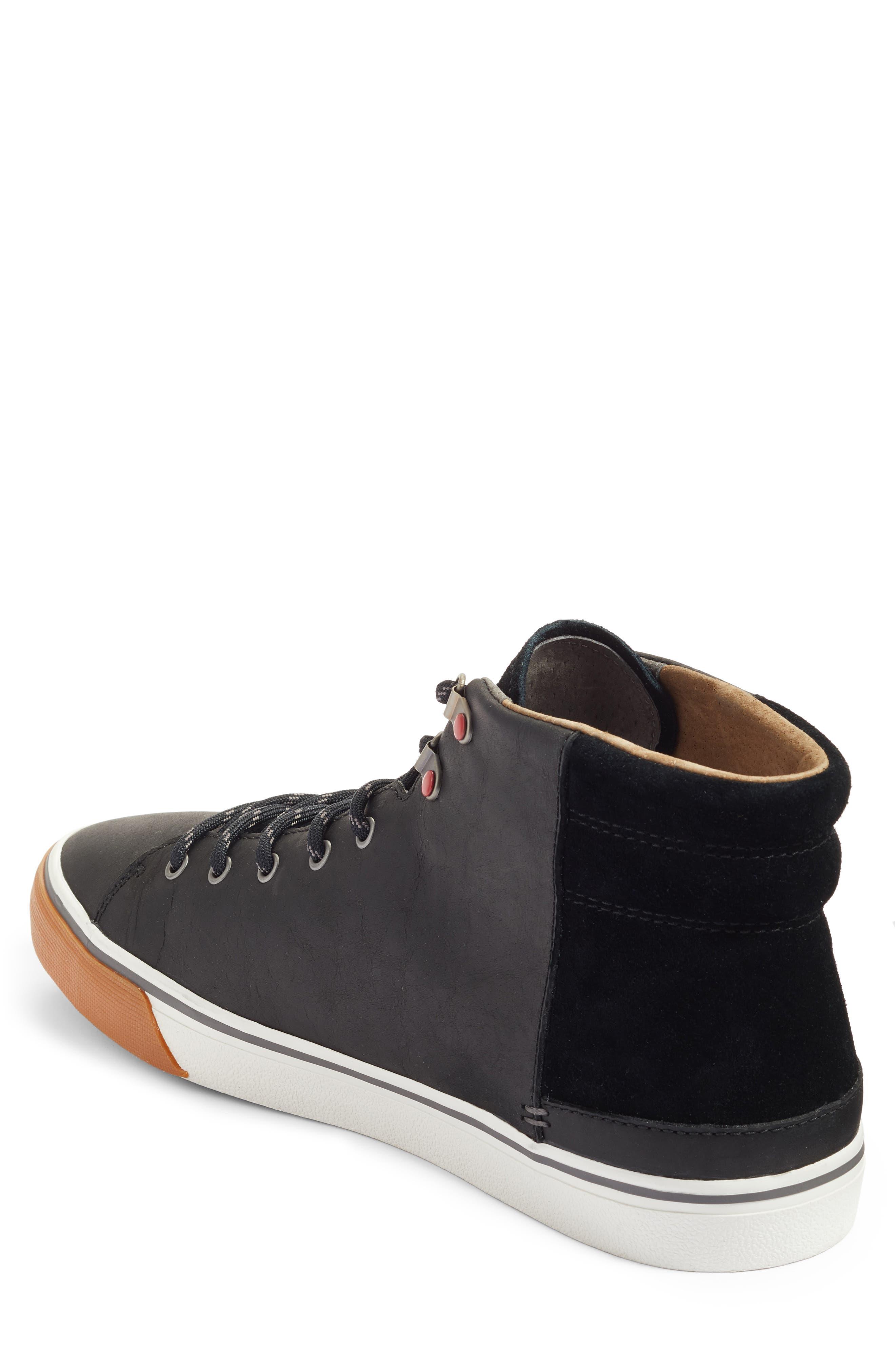 Hoyt High Top Sneaker,                             Alternate thumbnail 2, color,                             001