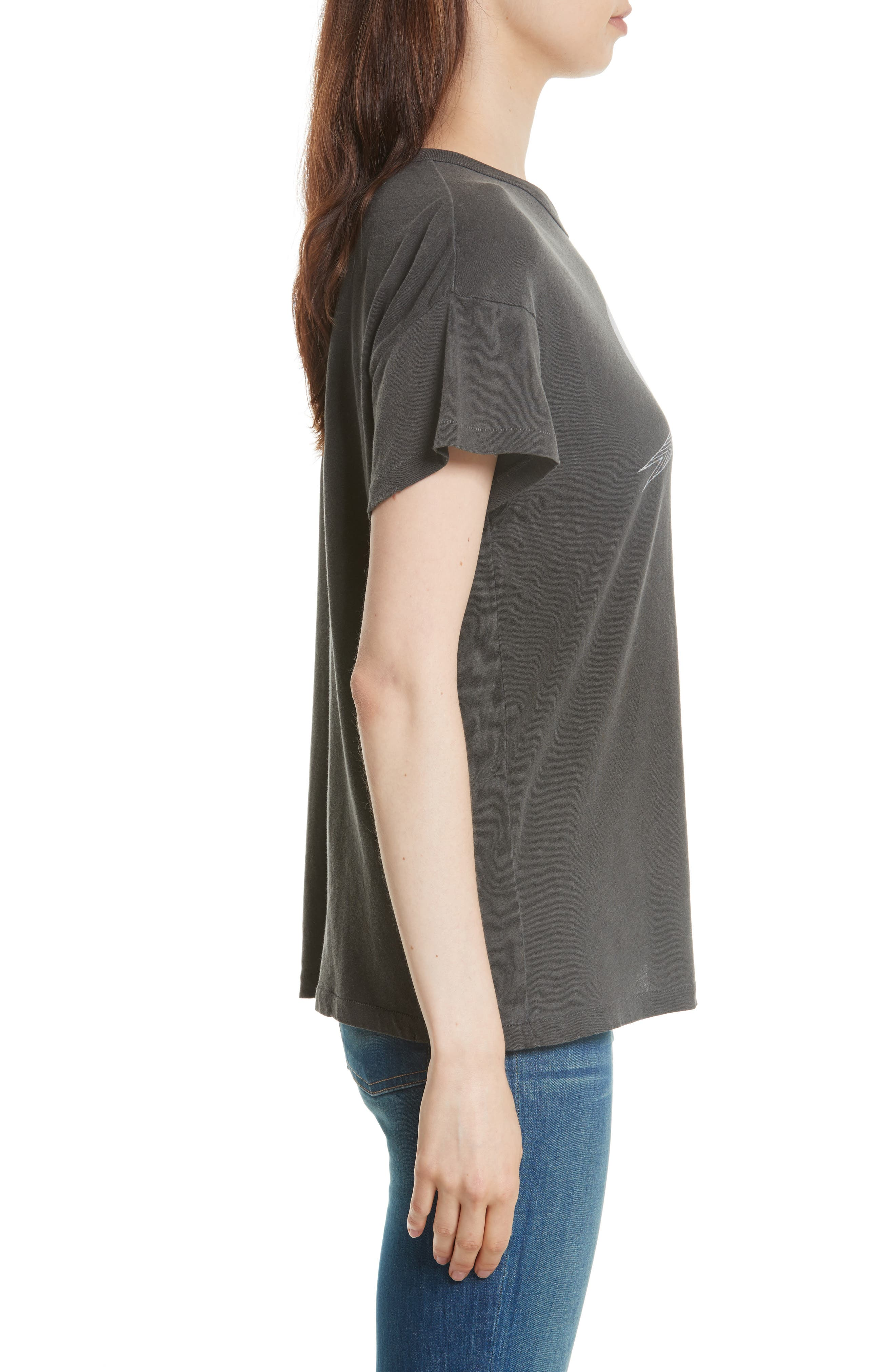 The Boxy Graphic Tee,                             Alternate thumbnail 8, color,