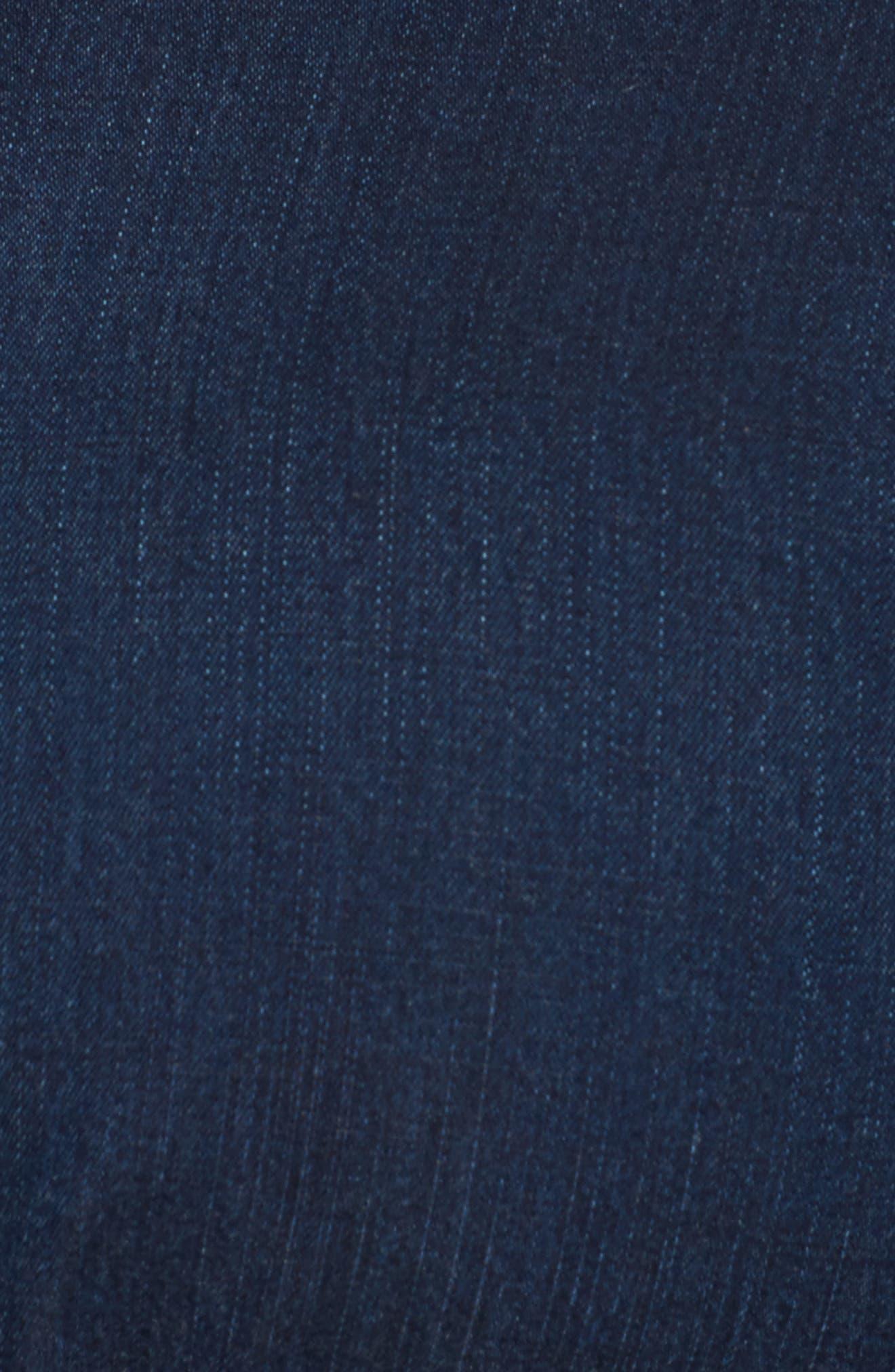 Denim Shirtdress,                             Alternate thumbnail 5, color,