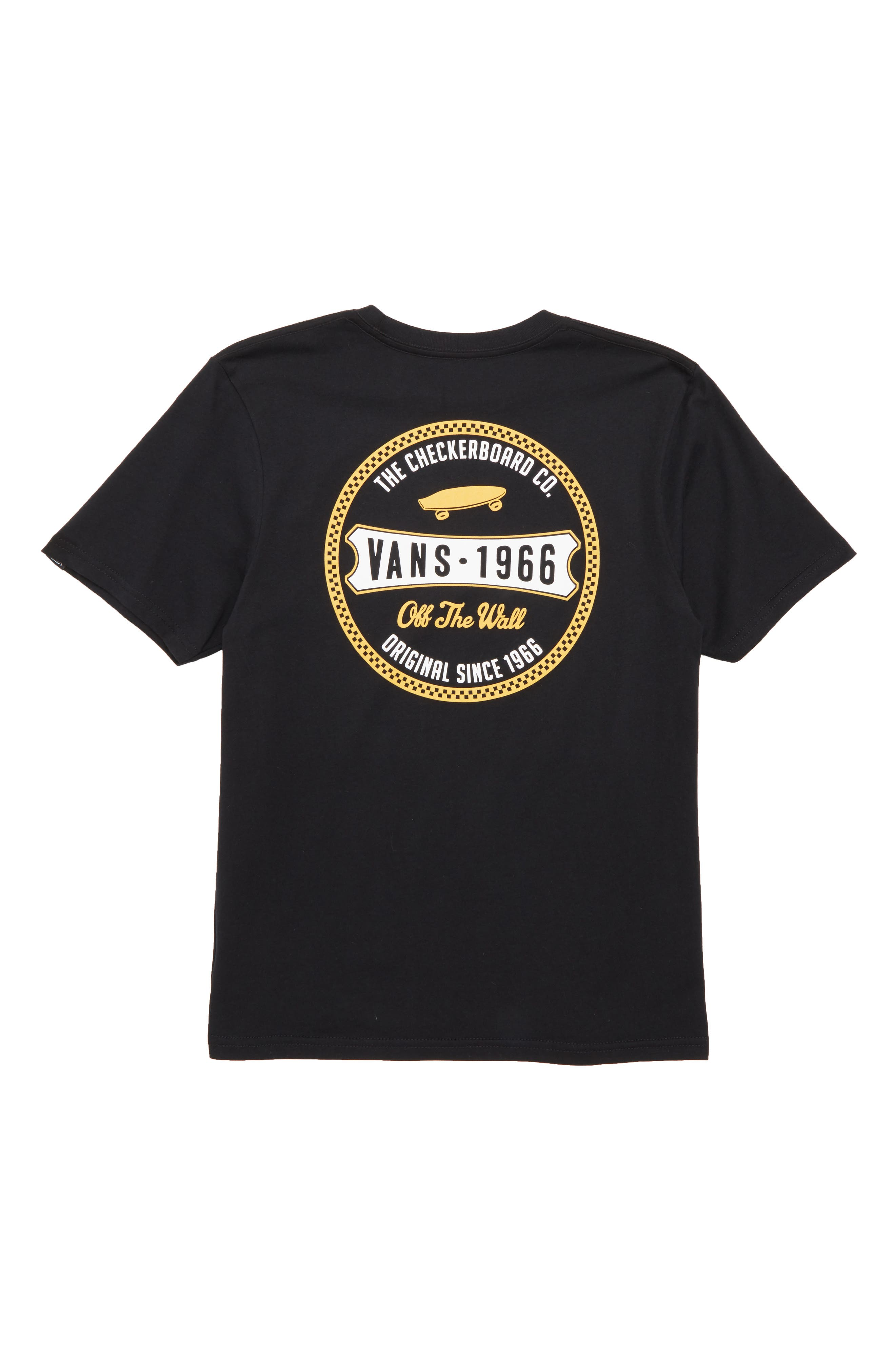 Checkerboard Co. Logo T-Shirt,                             Alternate thumbnail 2, color,                             001