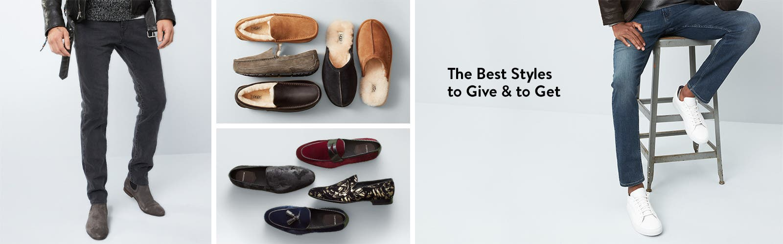 The best men's shoes to give and to get.