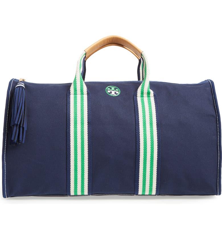 Preppy Canvas Duffel Bag