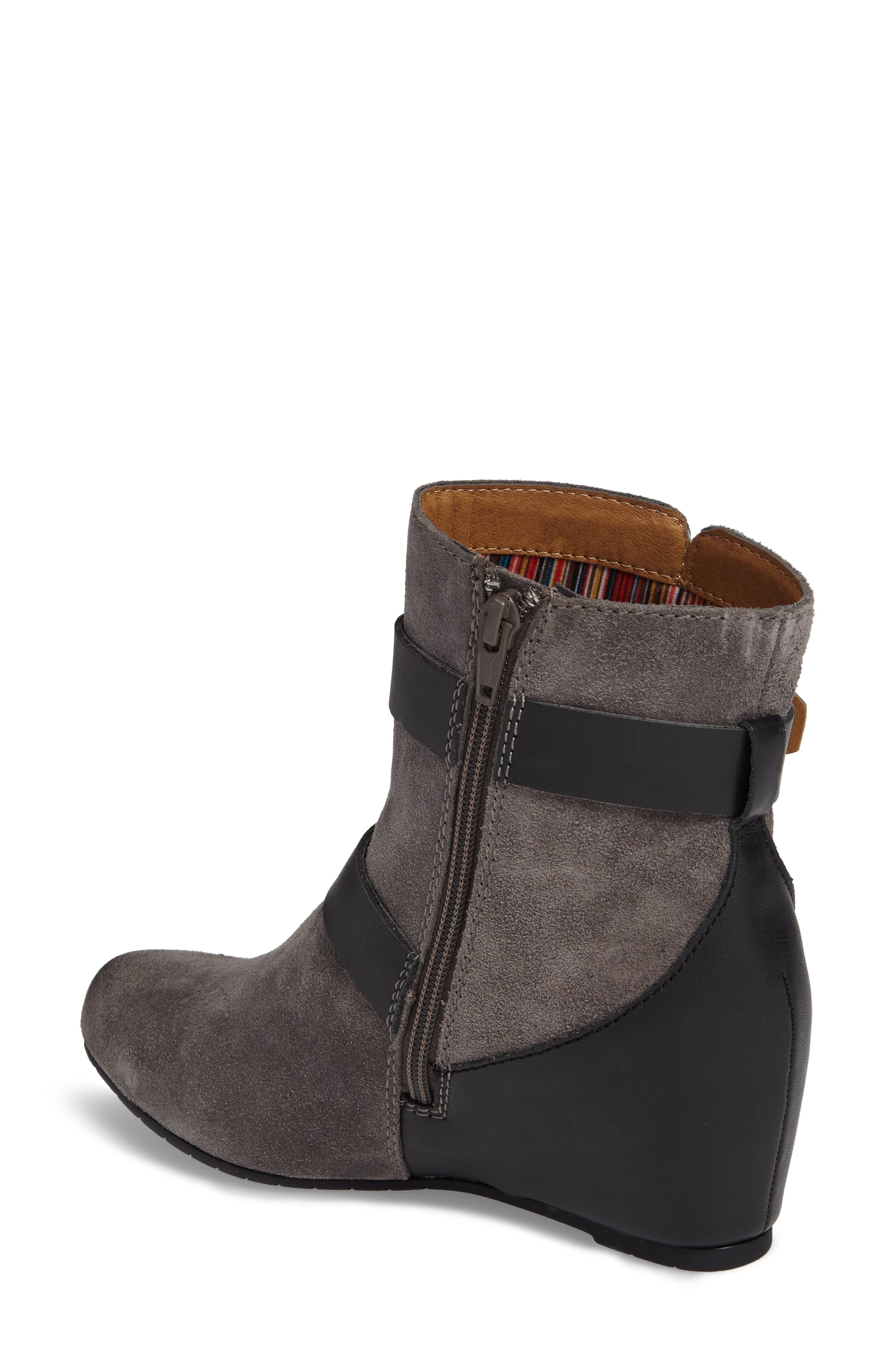 Ramika Wedge Bootie,                             Alternate thumbnail 5, color,