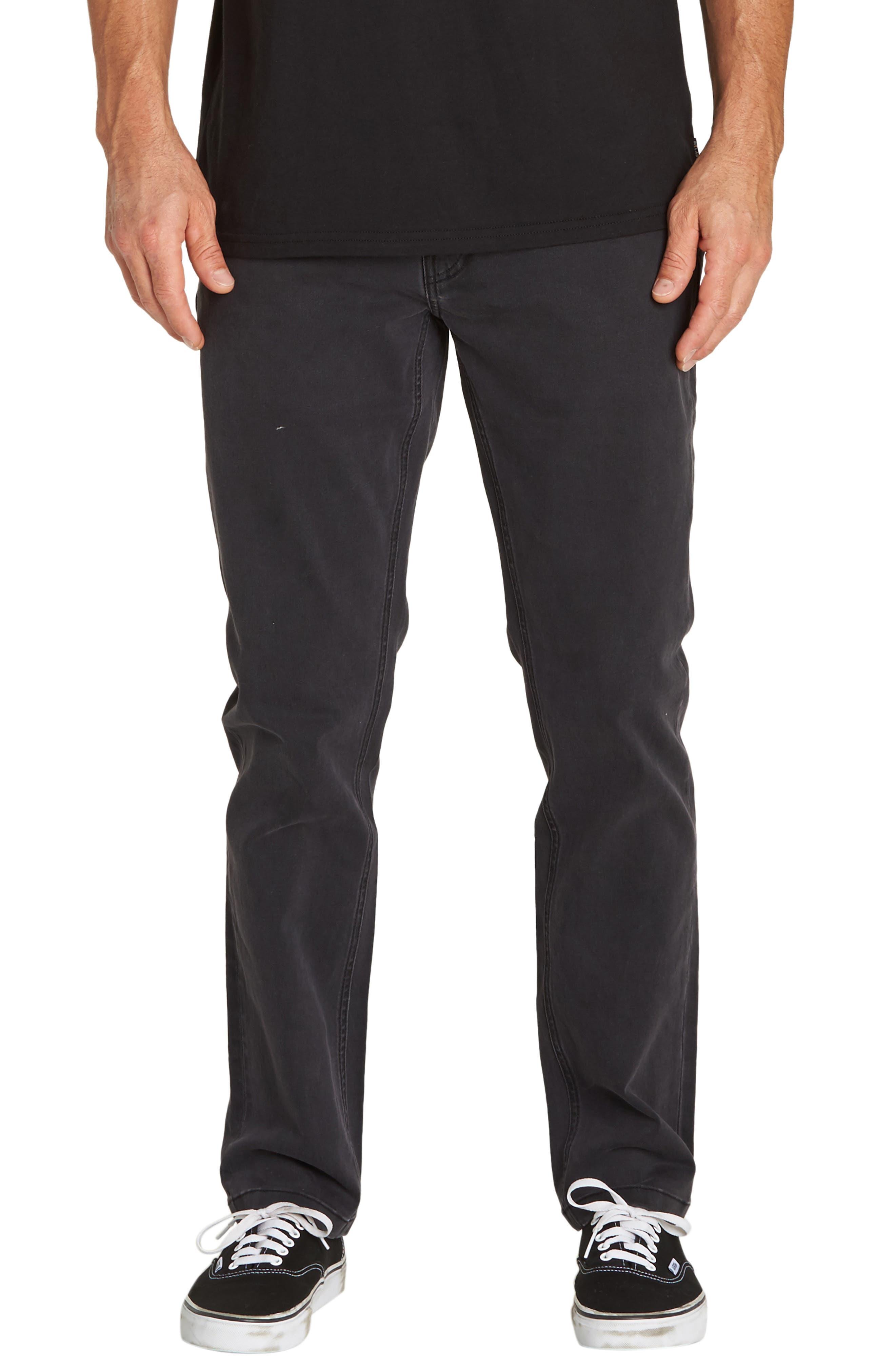 Outsider Slim Straight Jeans,                             Main thumbnail 1, color,                             OIL SPILL