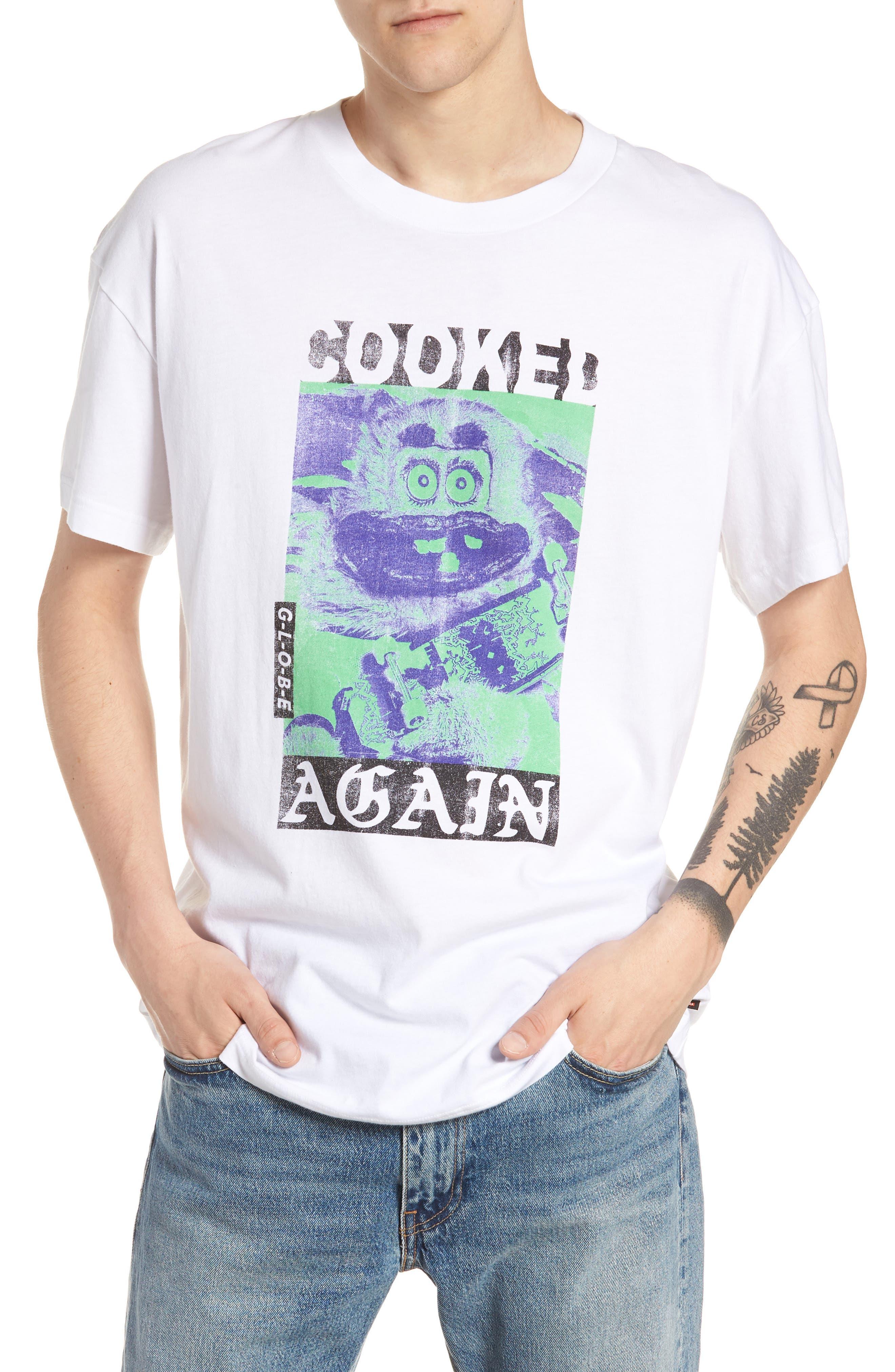 T-Shirt,                             Main thumbnail 1, color,                             WHITE
