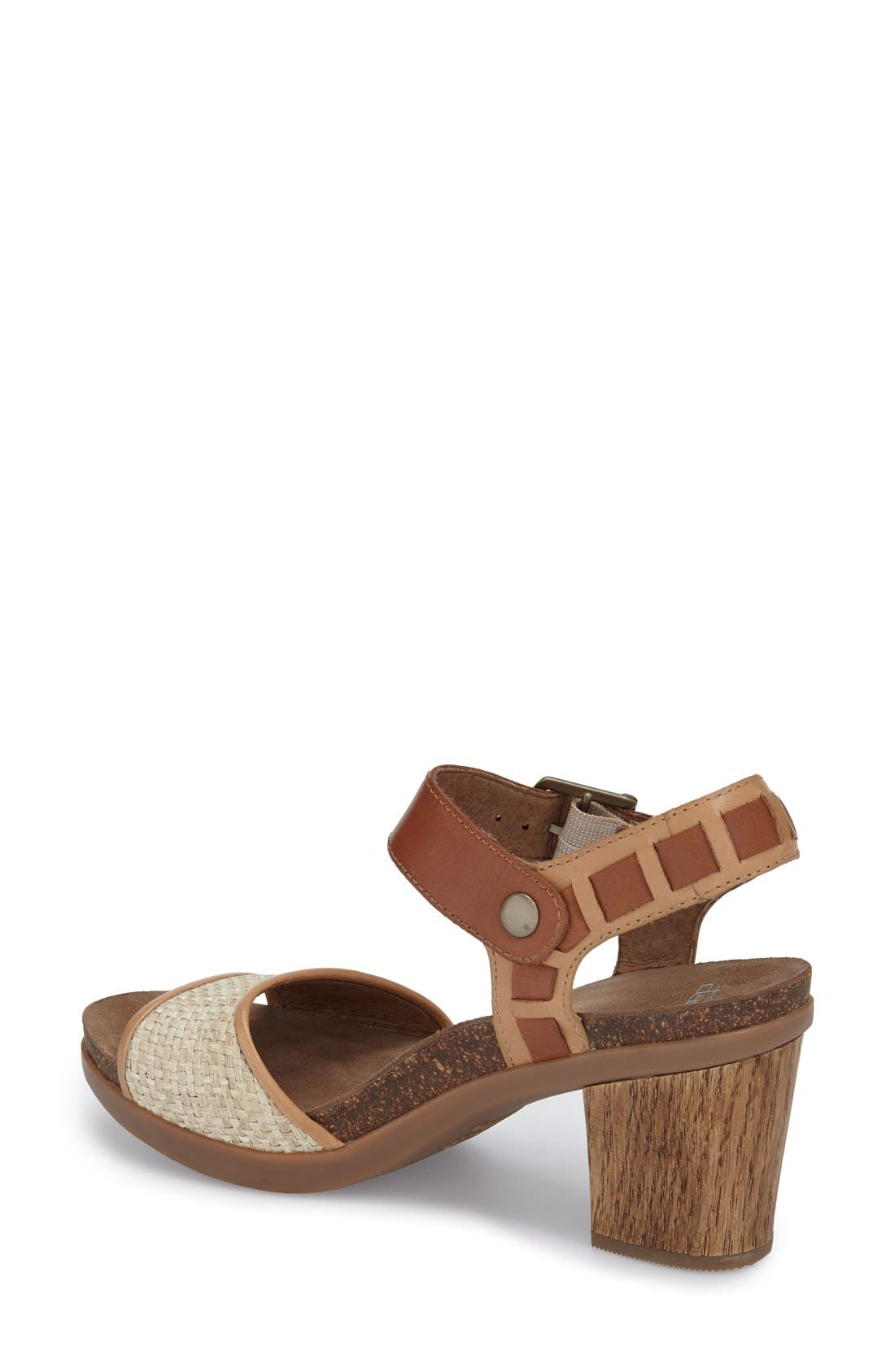 'Debby' Platform Sandal,                             Alternate thumbnail 4, color,
