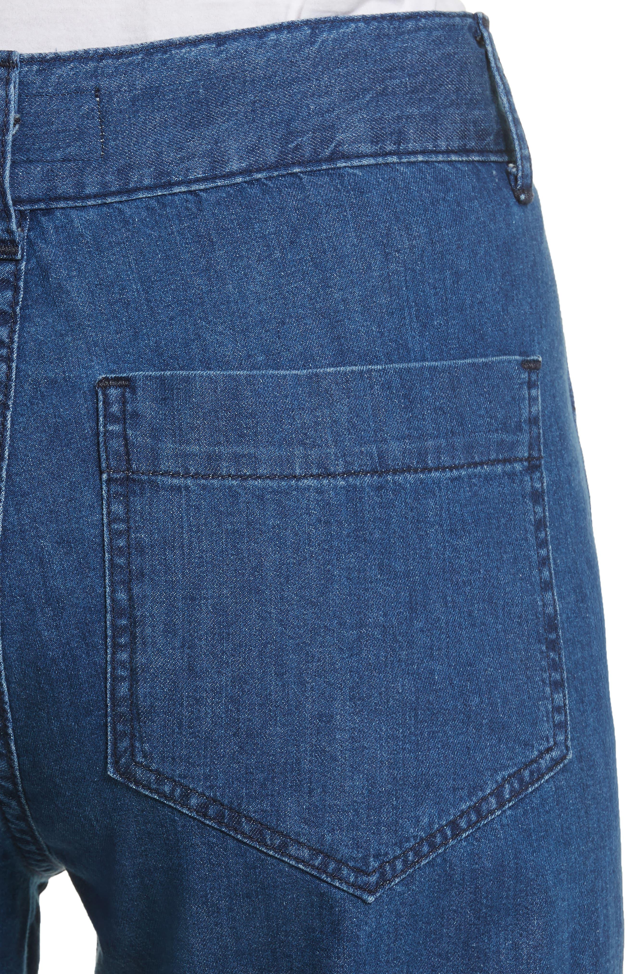 The Slouch Sailor Jeans,                             Alternate thumbnail 4, color,