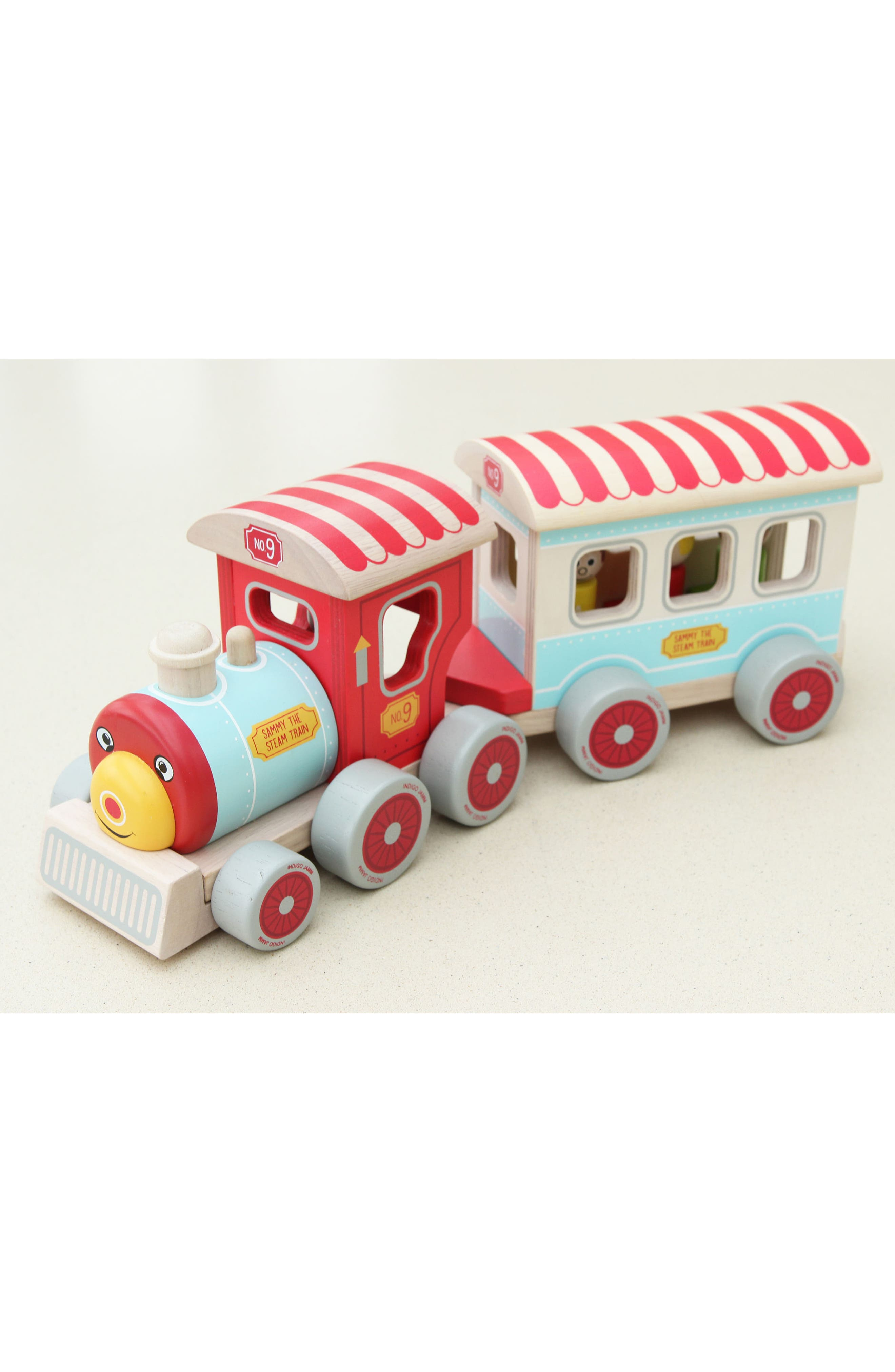 Wooden Train Toy,                             Alternate thumbnail 2, color,                             600