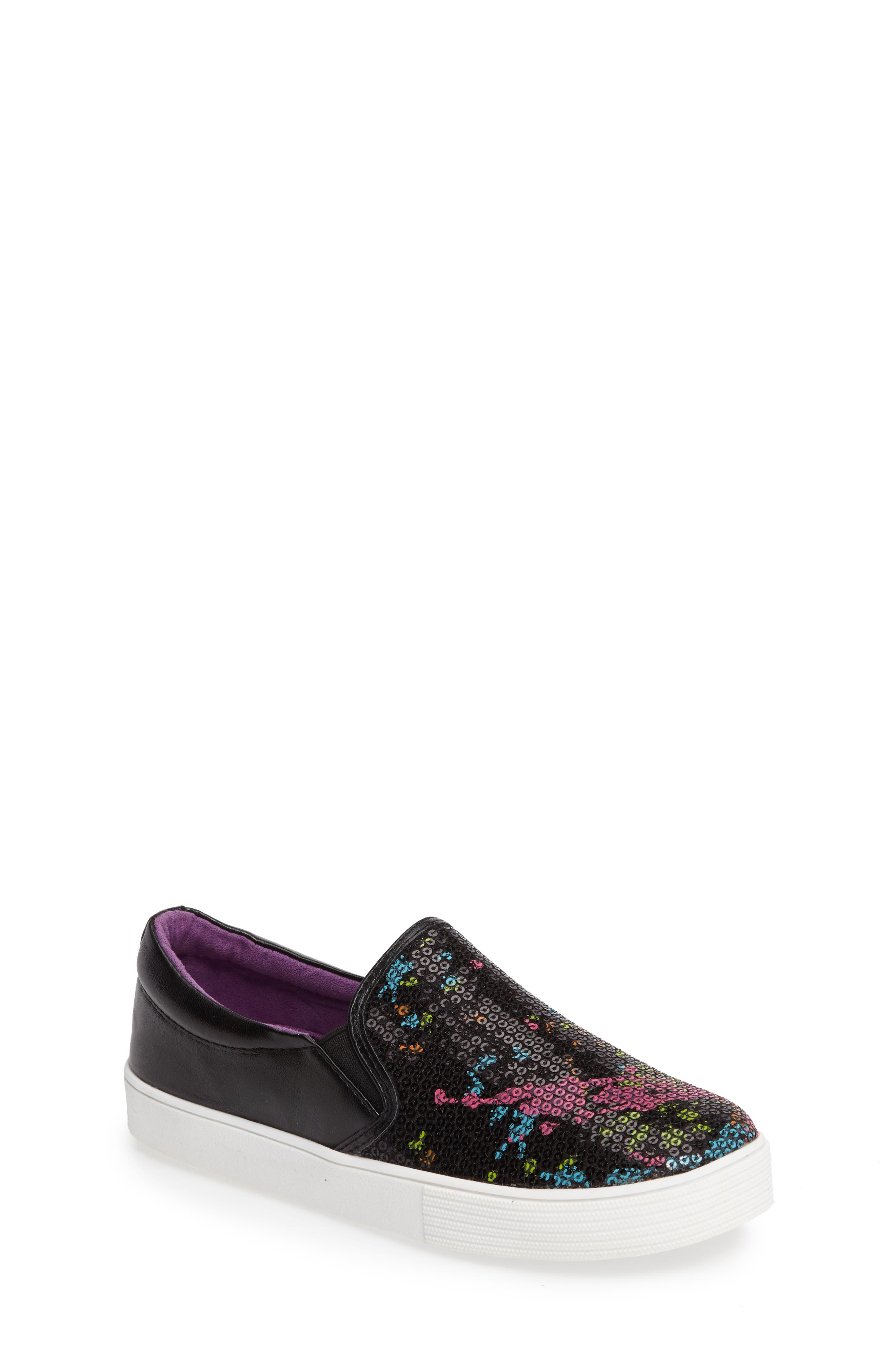 Kam Paint Slip-On Sneaker,                             Main thumbnail 1, color,                             001
