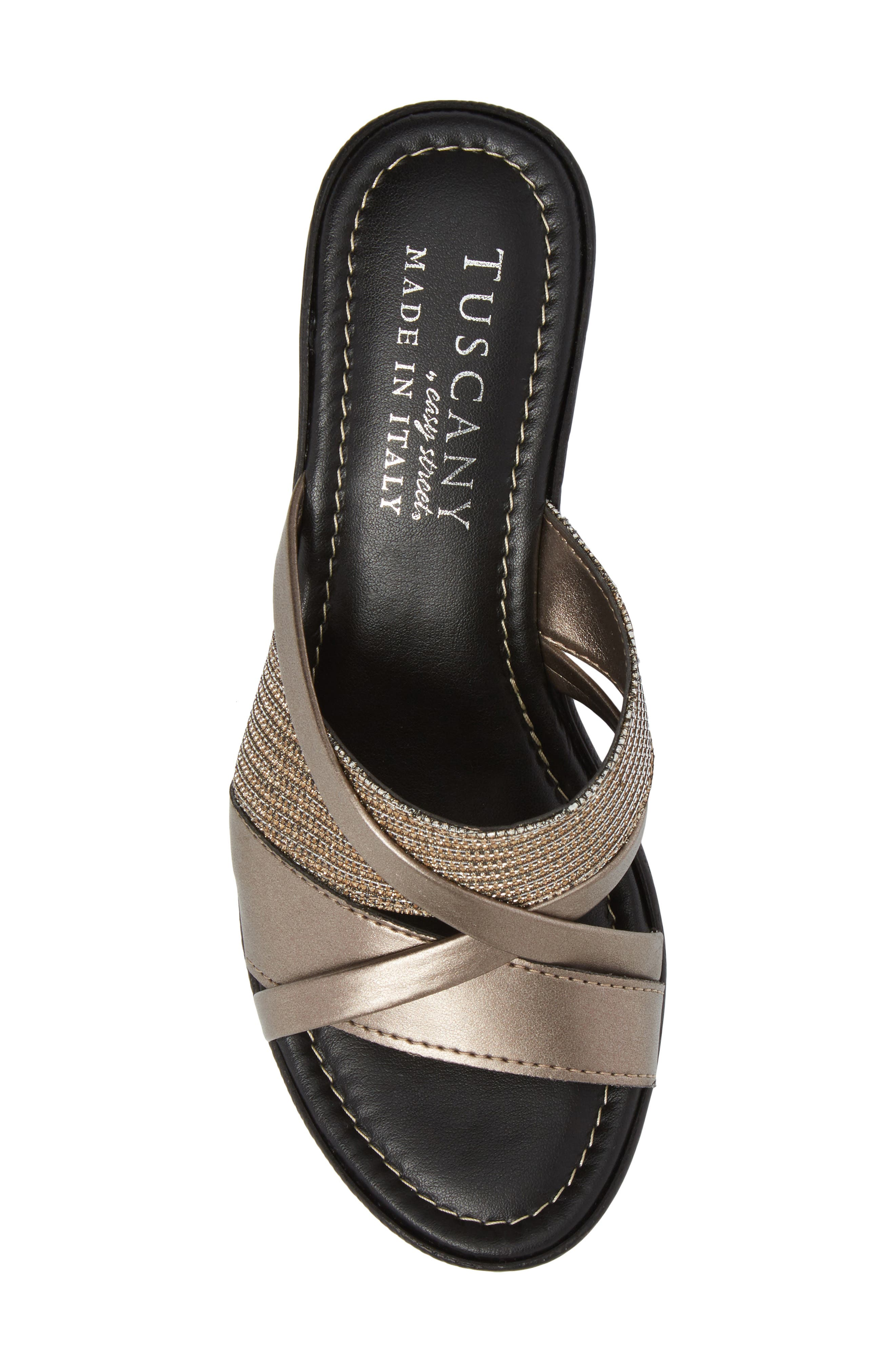 by East Street<sup>®</sup> Lucette Strappy Wedge Mule,                             Alternate thumbnail 25, color,